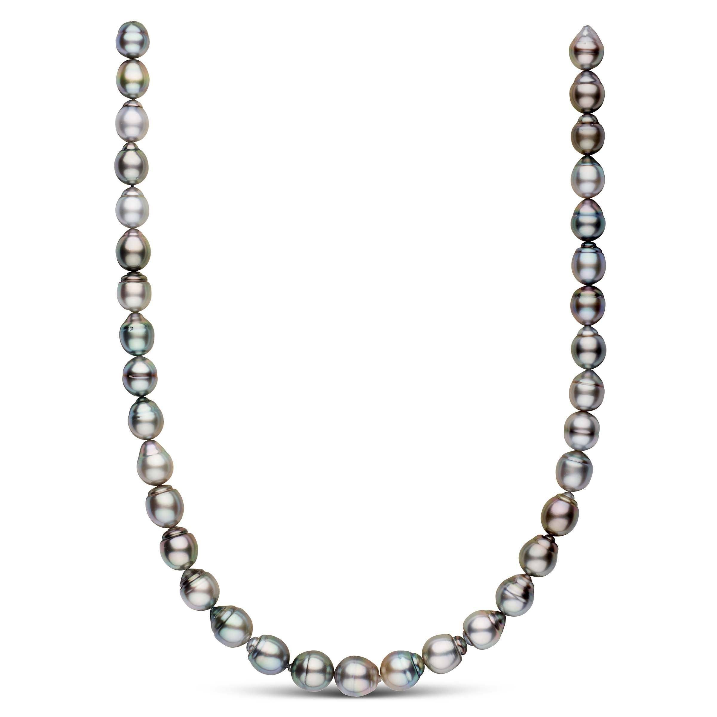 9.1-11.0 mm AAA Baroque Tahitian Pearl Necklace