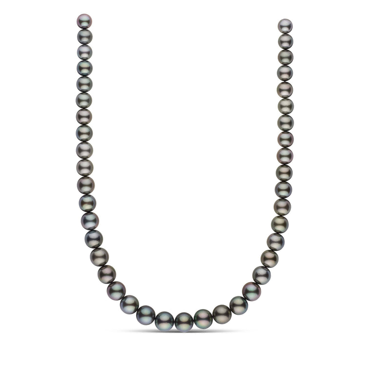 9.1-11.7 mm AA+/AAA Round Tahitian Pearl Necklace