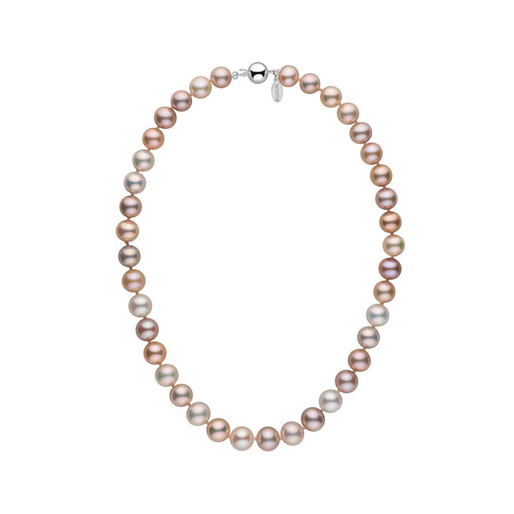 9.5-10.5 mm 16 Inch Multicolor Freshadama Freshwater Pearl Necklace