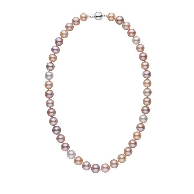 ad7abbb805307 9.5-10.5 mm 18 Inch AAA Multicolor Freshwater Pearl Necklace