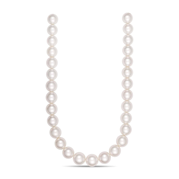 14.0-16.9 mm AA+/AAA Round White South Sea Pearl Necklace