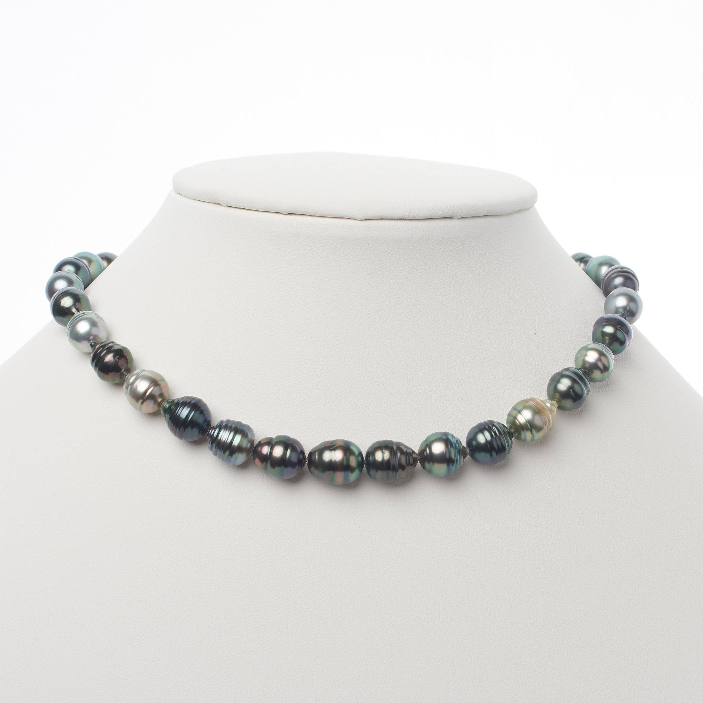 8.0-10.5 mm AA+/AAA Tahitian Baroque Pearl Necklace