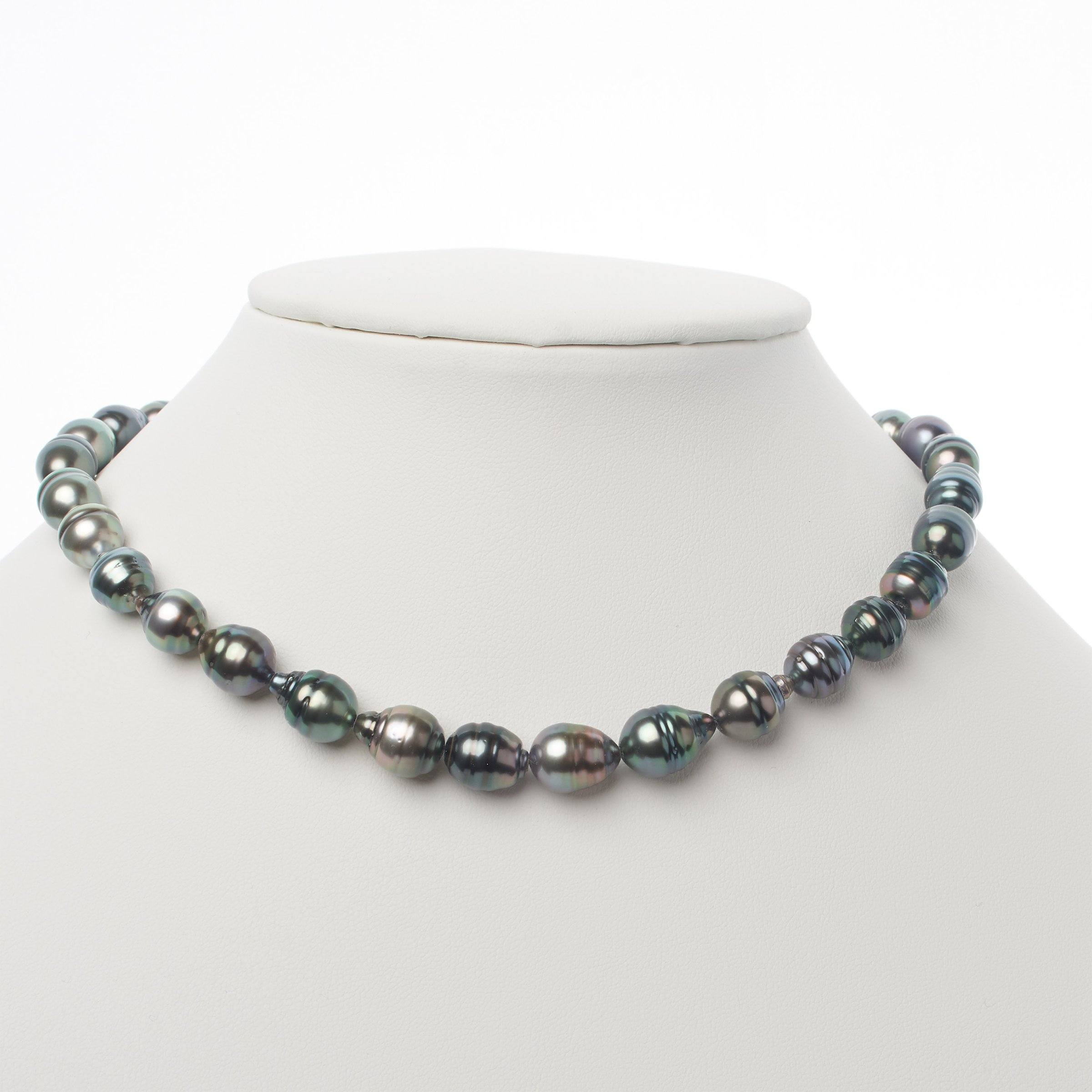 8.1-10.4 mm AA+/AAA Tahitian Baroque Pearl Necklace