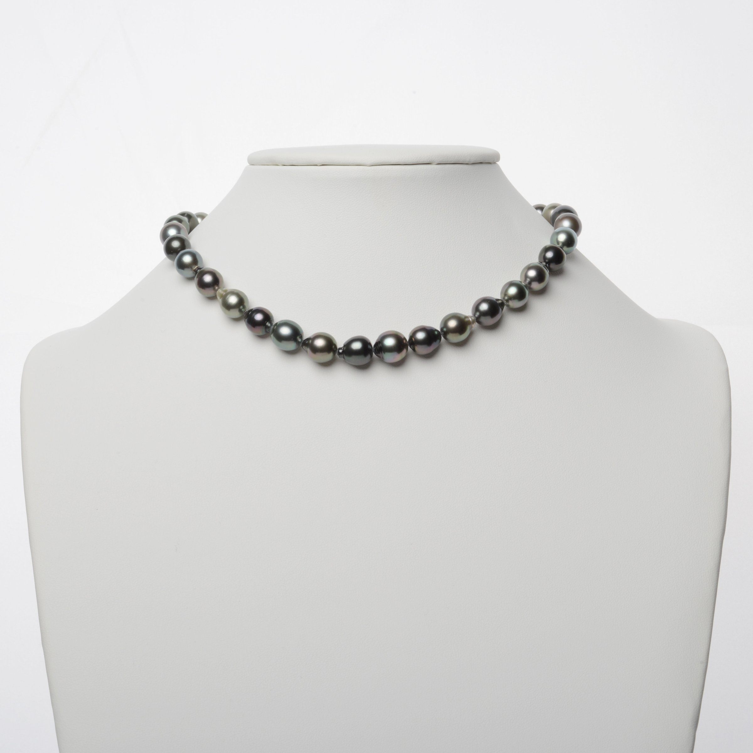 8.5-10.9 mm AAA Tahitian Drop Pearl Necklace