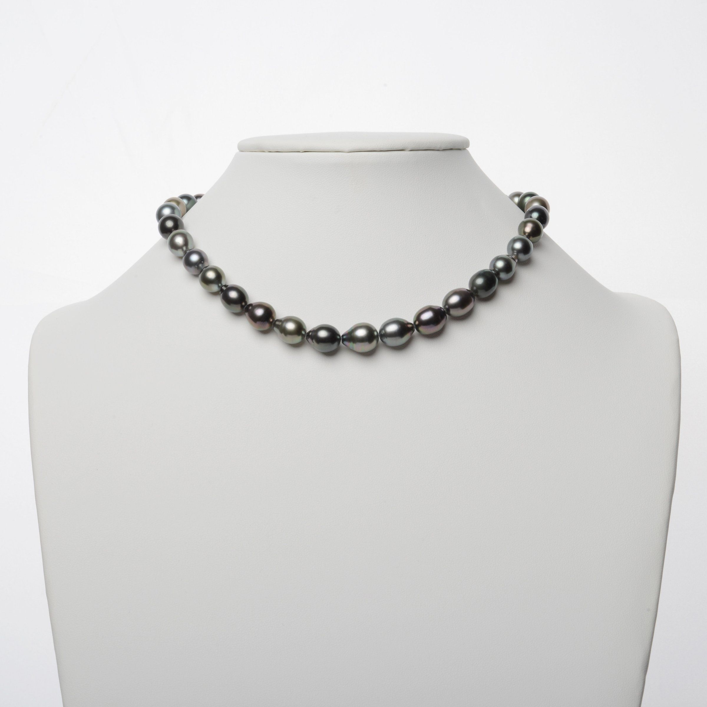 8.4-10.9 mm AAA Tahitian Drop Pearl Necklace