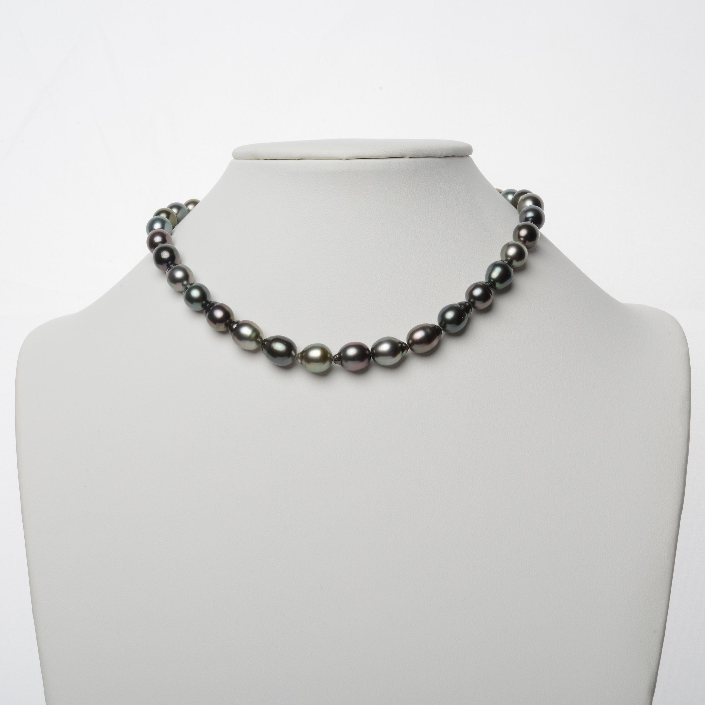 8.7-10.4 mm AAA Tahitian Drop Pearl Necklace