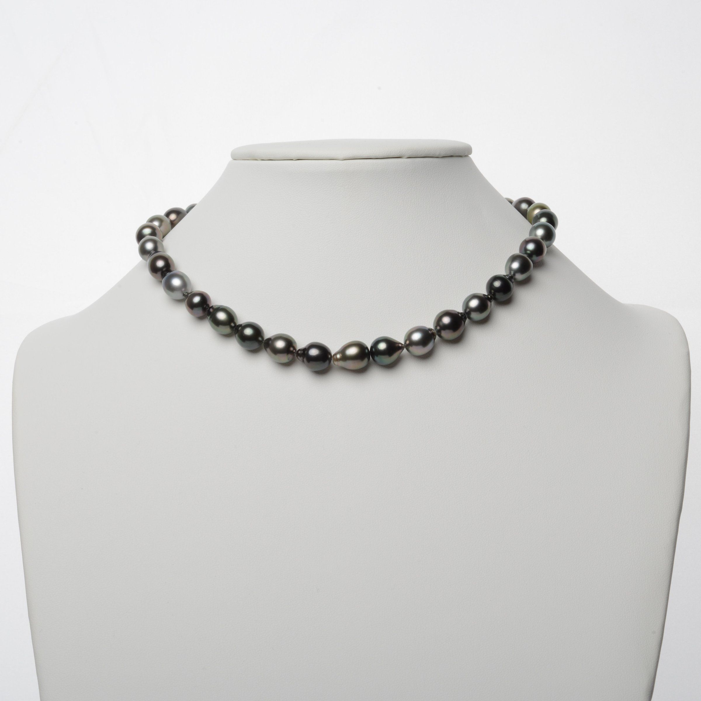 8.6-10.3 mm AAA Tahitian Drop Pearl Necklace