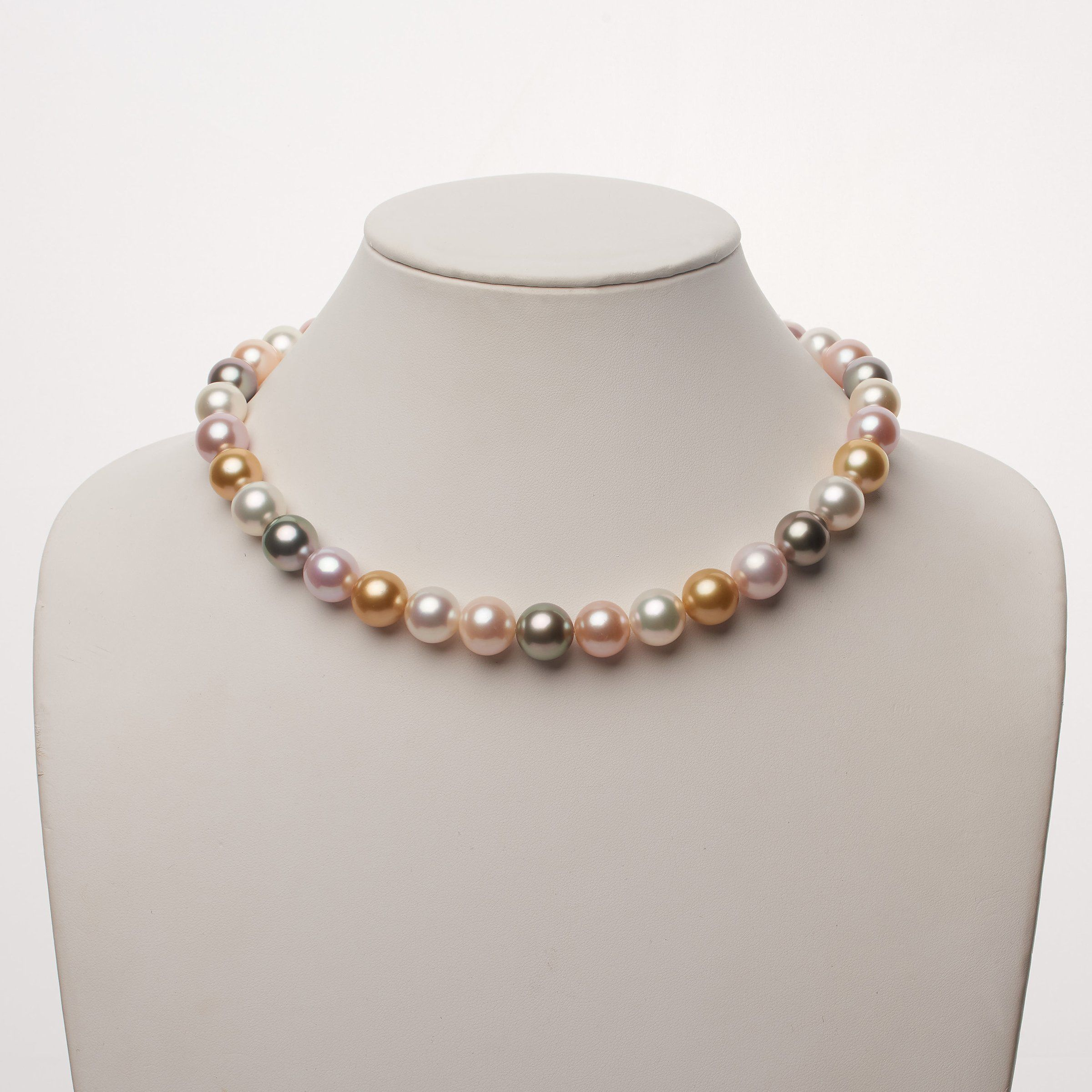 Endless Love Multicolored Pearl Necklace