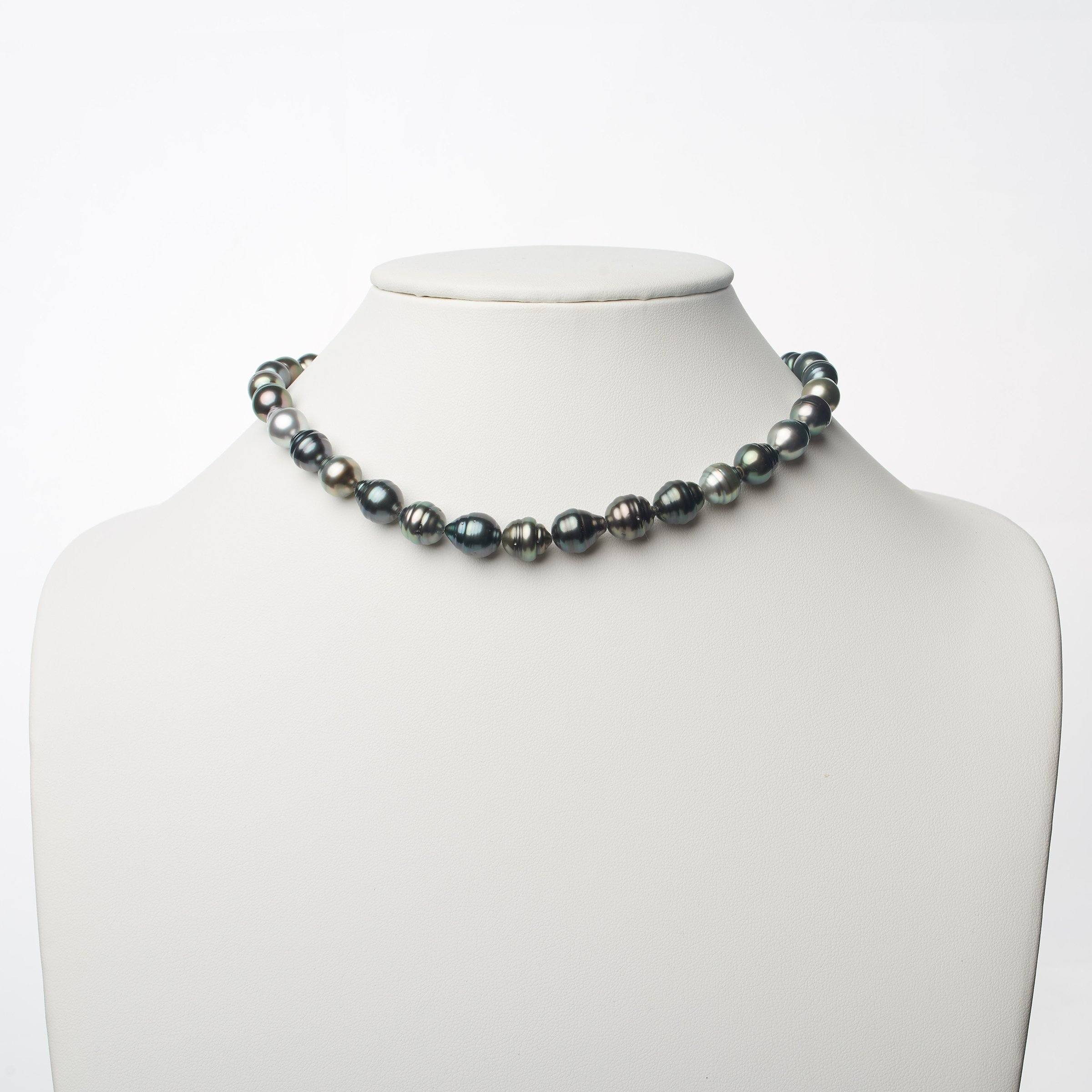 8.3-10.3 mm AA+ Tahitian Baroque Pearl Necklace