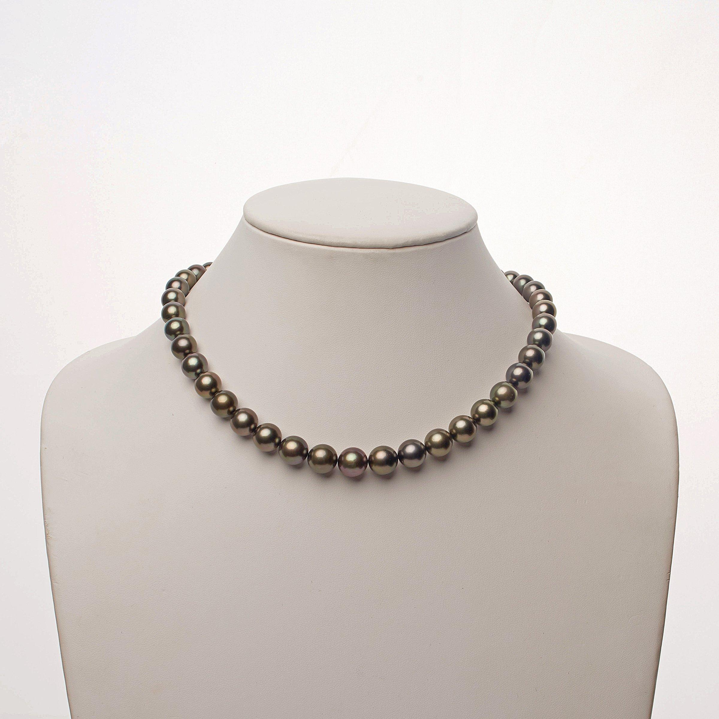 8.2-10.9 mm AA+/AAA Tahitian Round Pearl Necklace