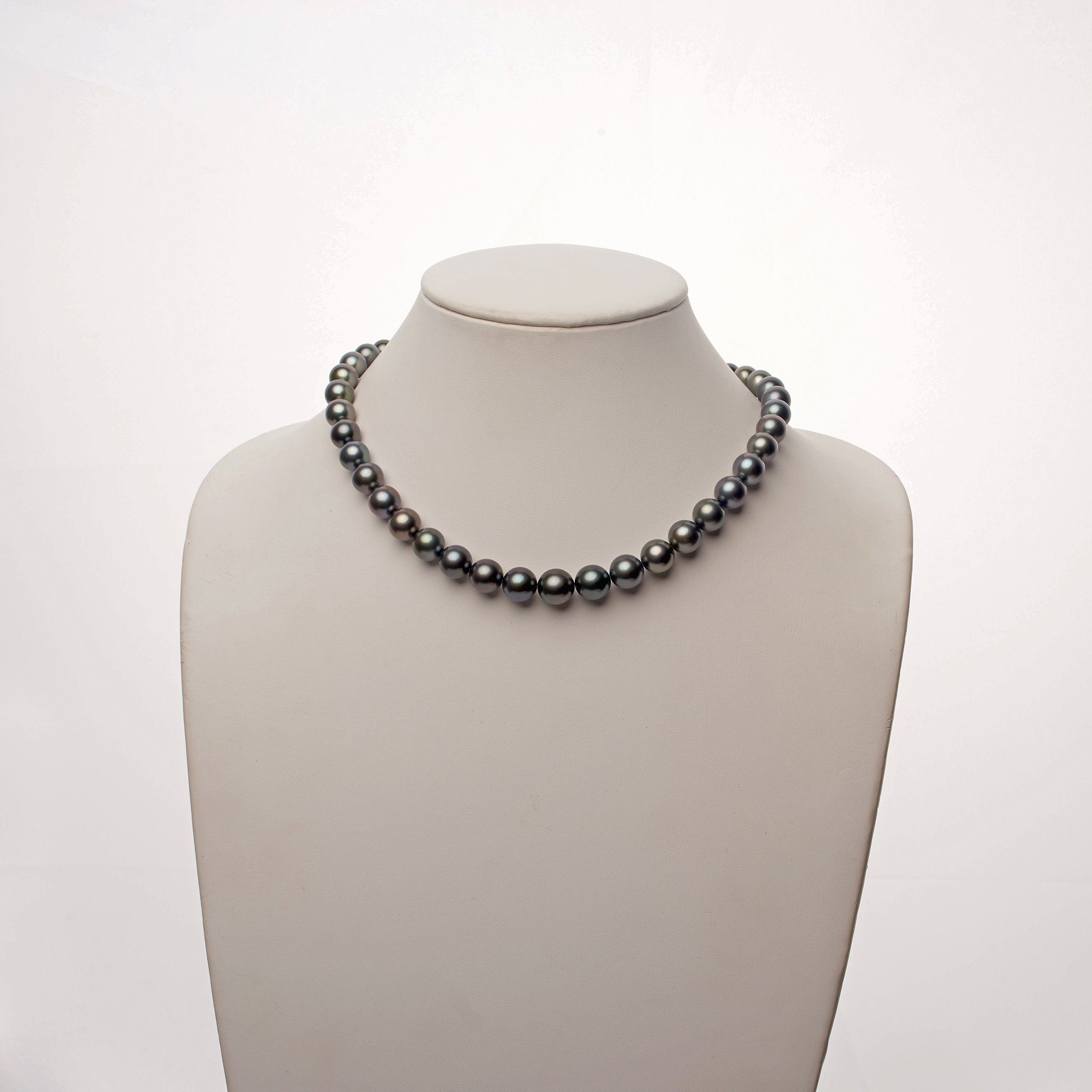 9.0-11.5 mm AA+/AAA Tahitian Round Pearl Necklace