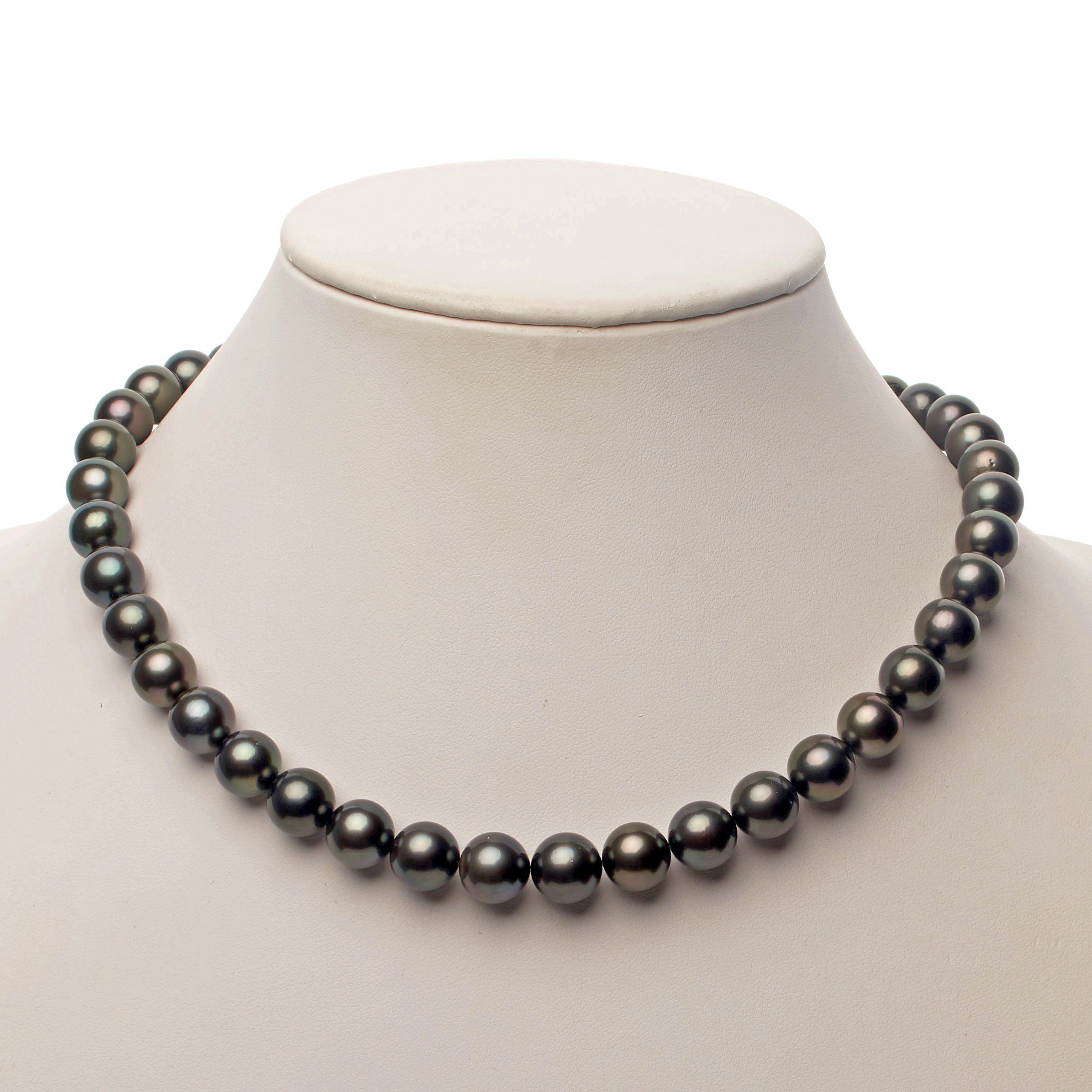 9.1-11.2 mm AA+/AAA Tahitian Round Pearl Necklace