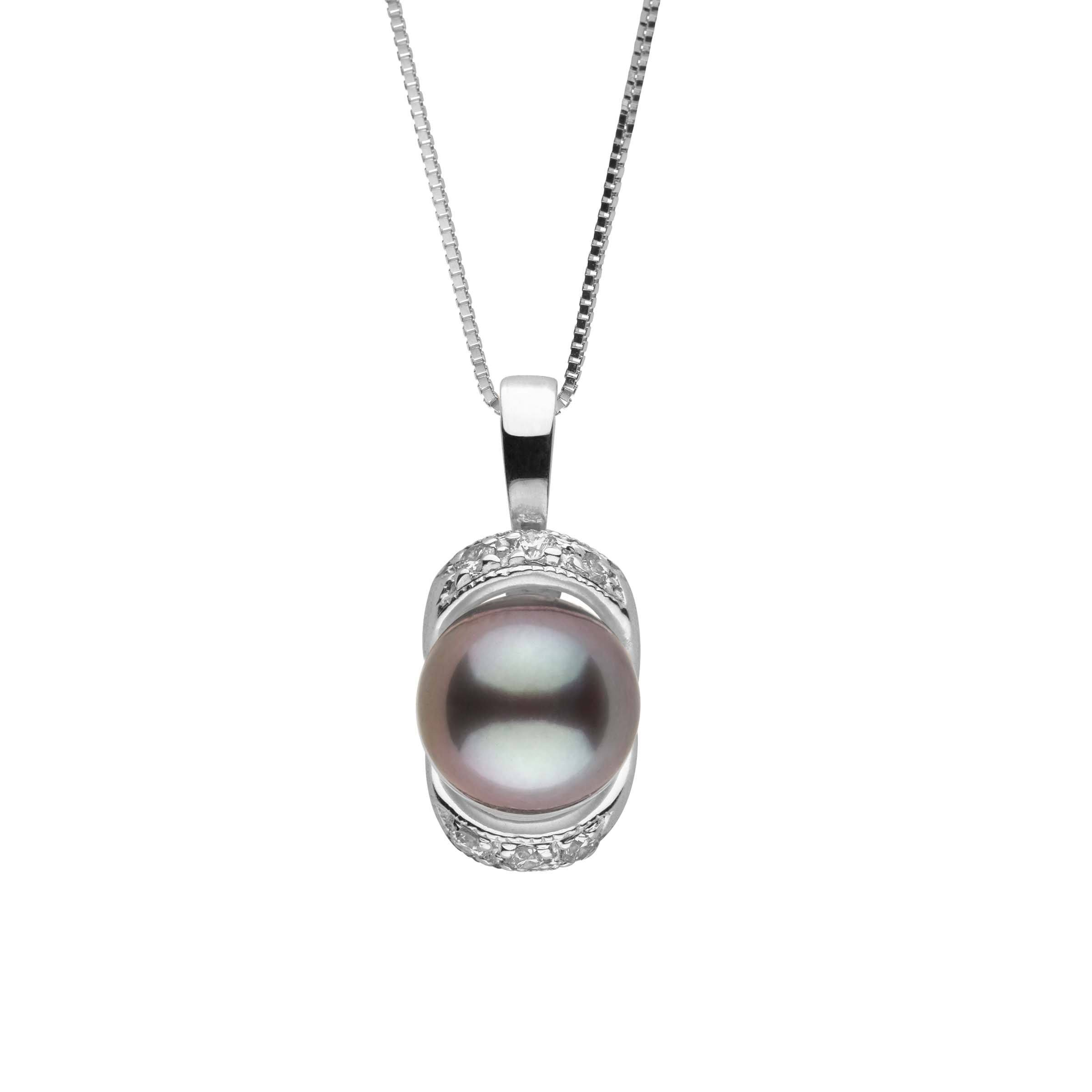 Bonnie Collection Tahitian Pearl and Diamond Pendant