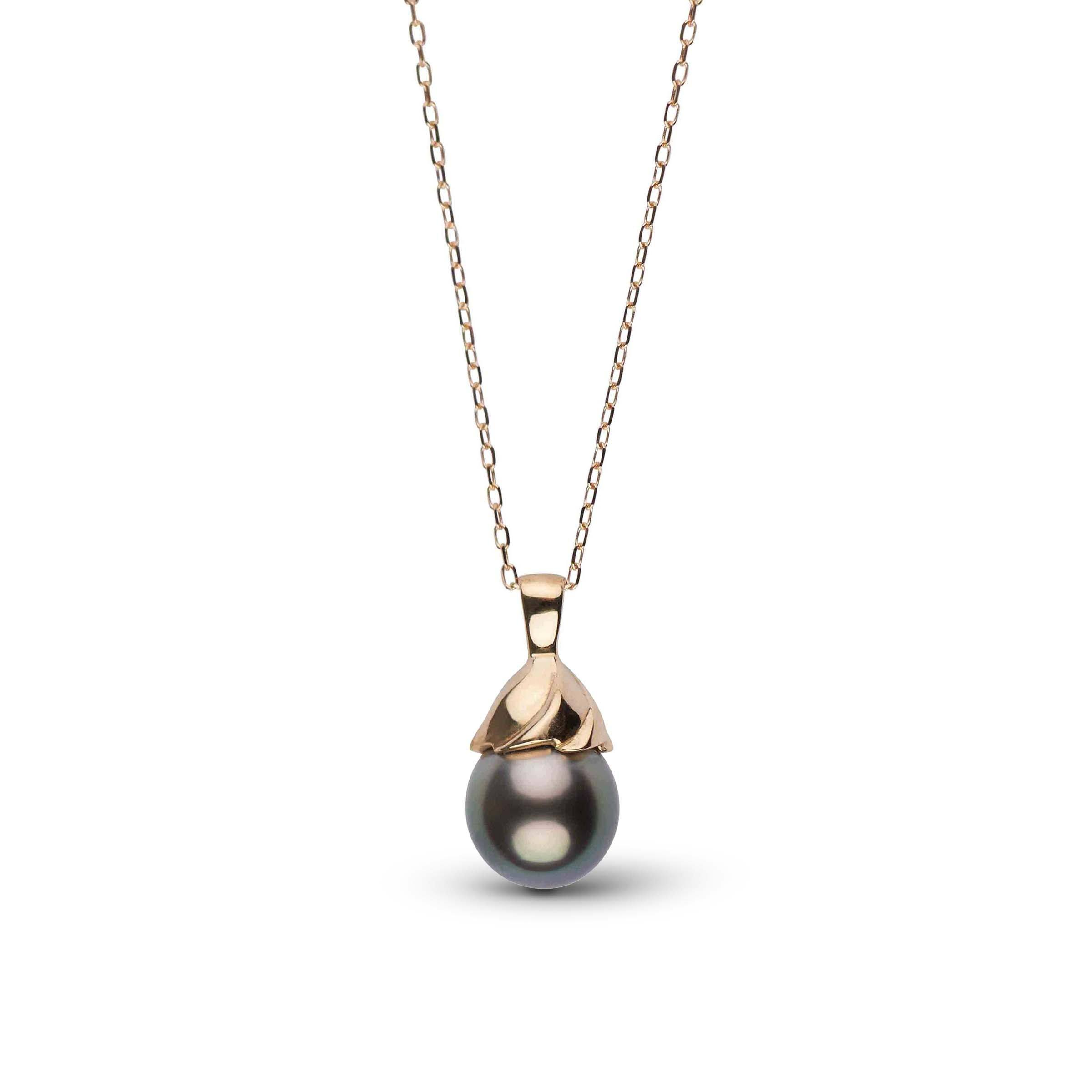 Twirl Collection Tahitian Drop Pearl Pendant