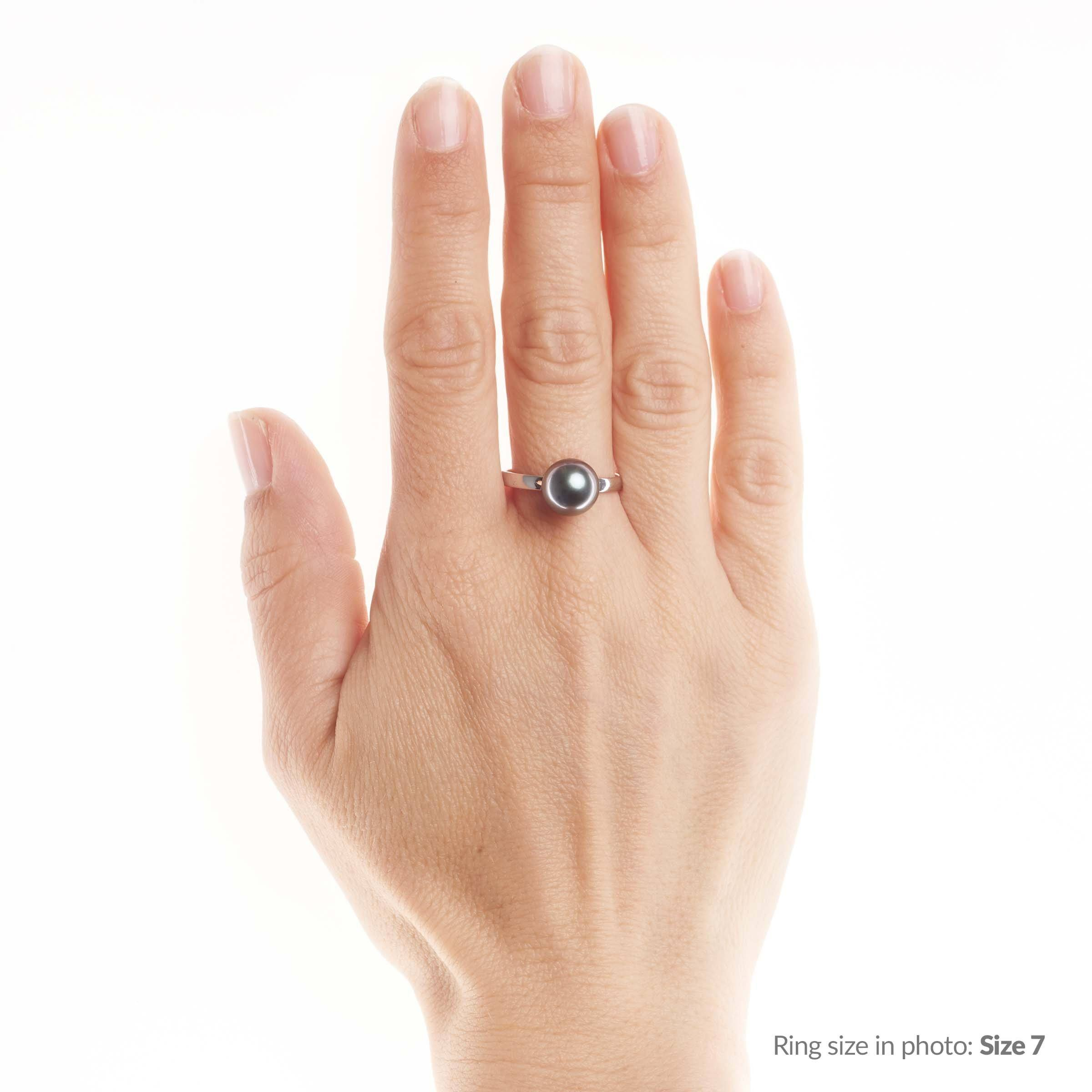 Classic Collection 9.0-10.0 mm Tahitian Pearl Ring
