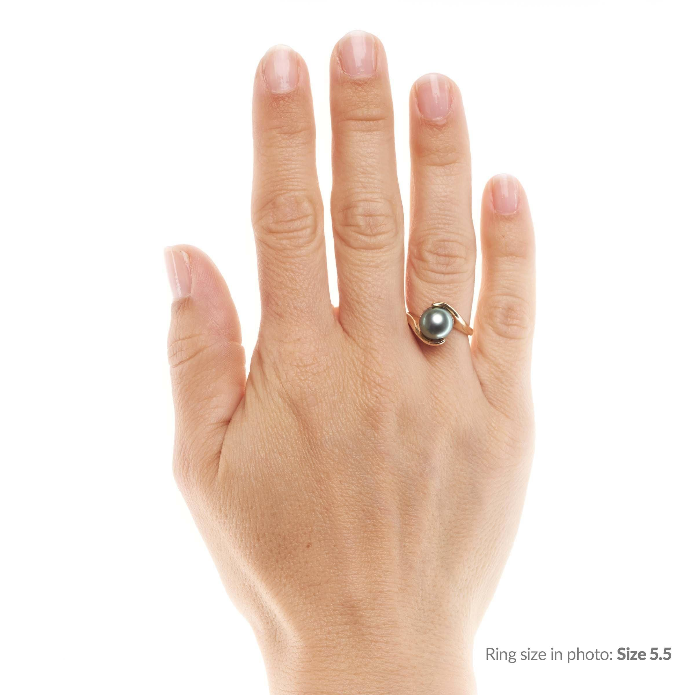 Embrace Collection Tahitian Pearl Ring
