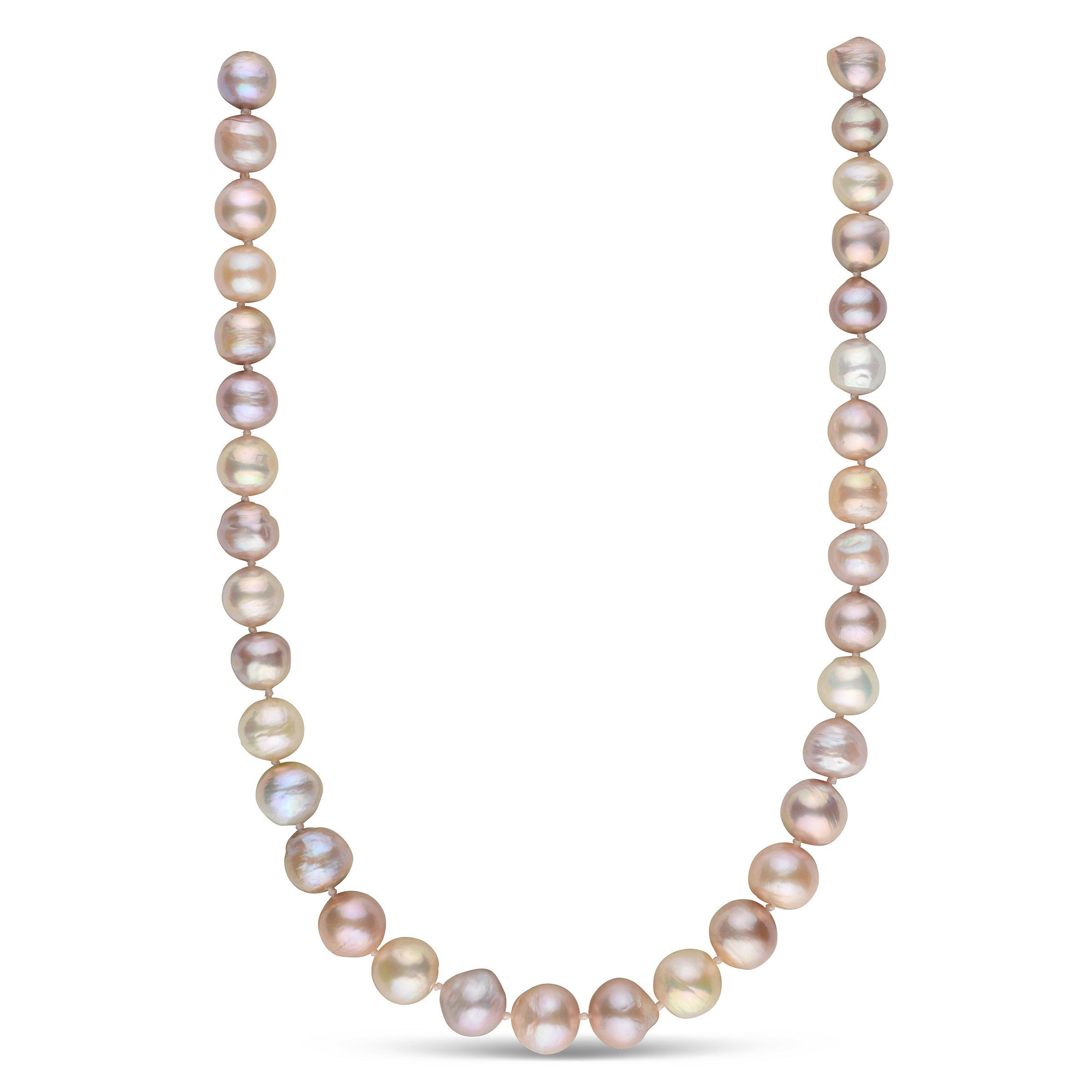 Sweet Love Freshwater Ripple Pearl Necklace