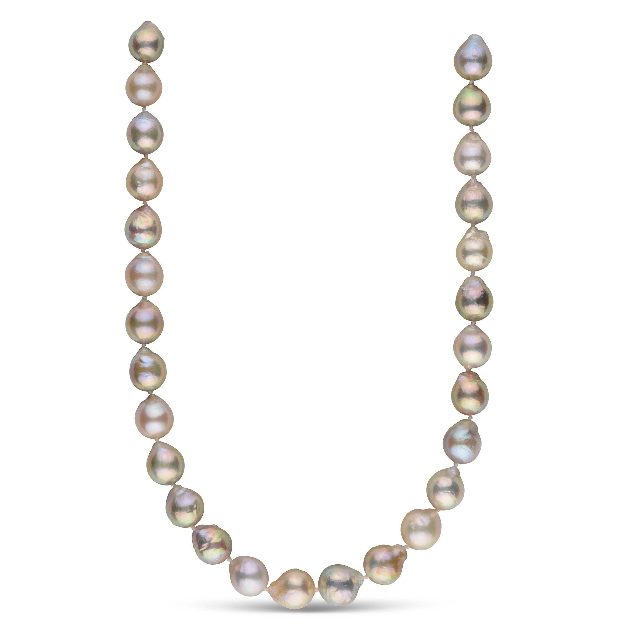 How Sweet It Is Freshwater Ripple Pearl Necklace