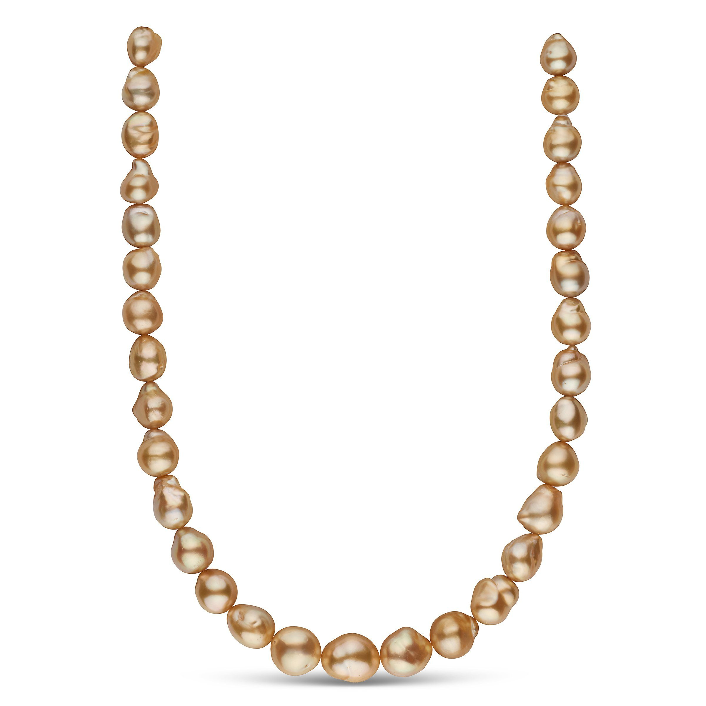The Julie Andrews Golden South Sea Pearl Necklace