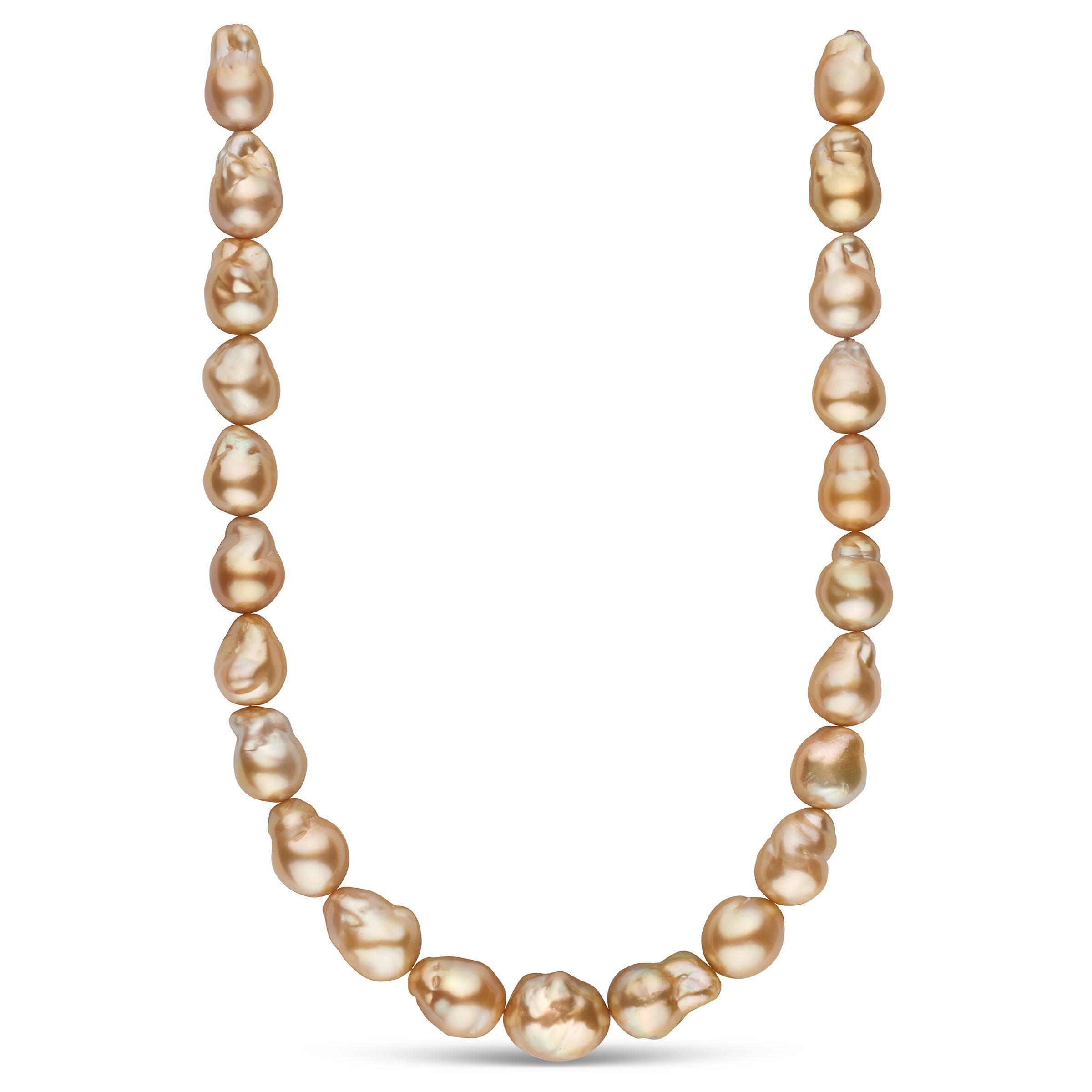 The Sound of Music Golden South Sea Pearl Necklace