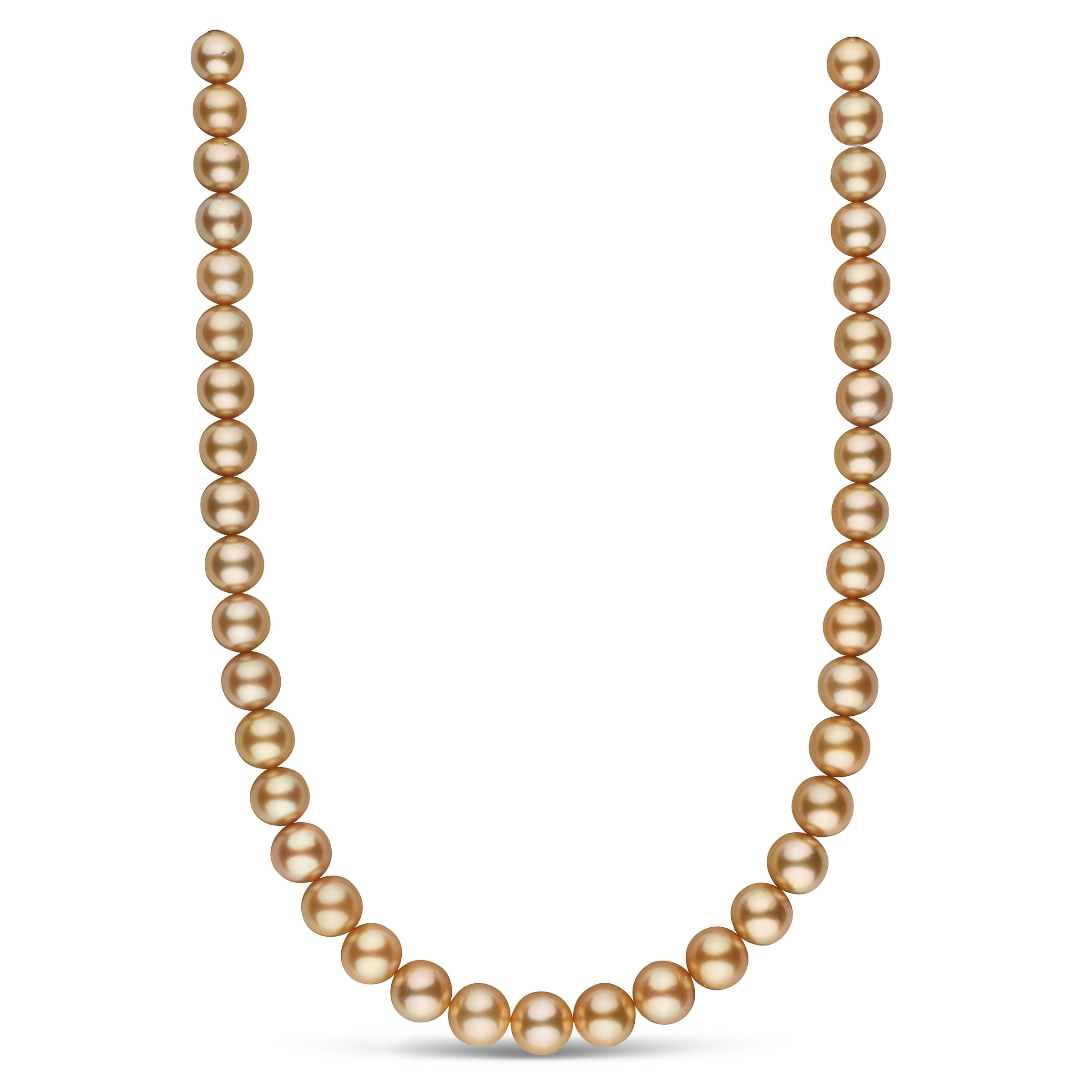 The Song In My Heart Golden South Sea Pearl Necklace