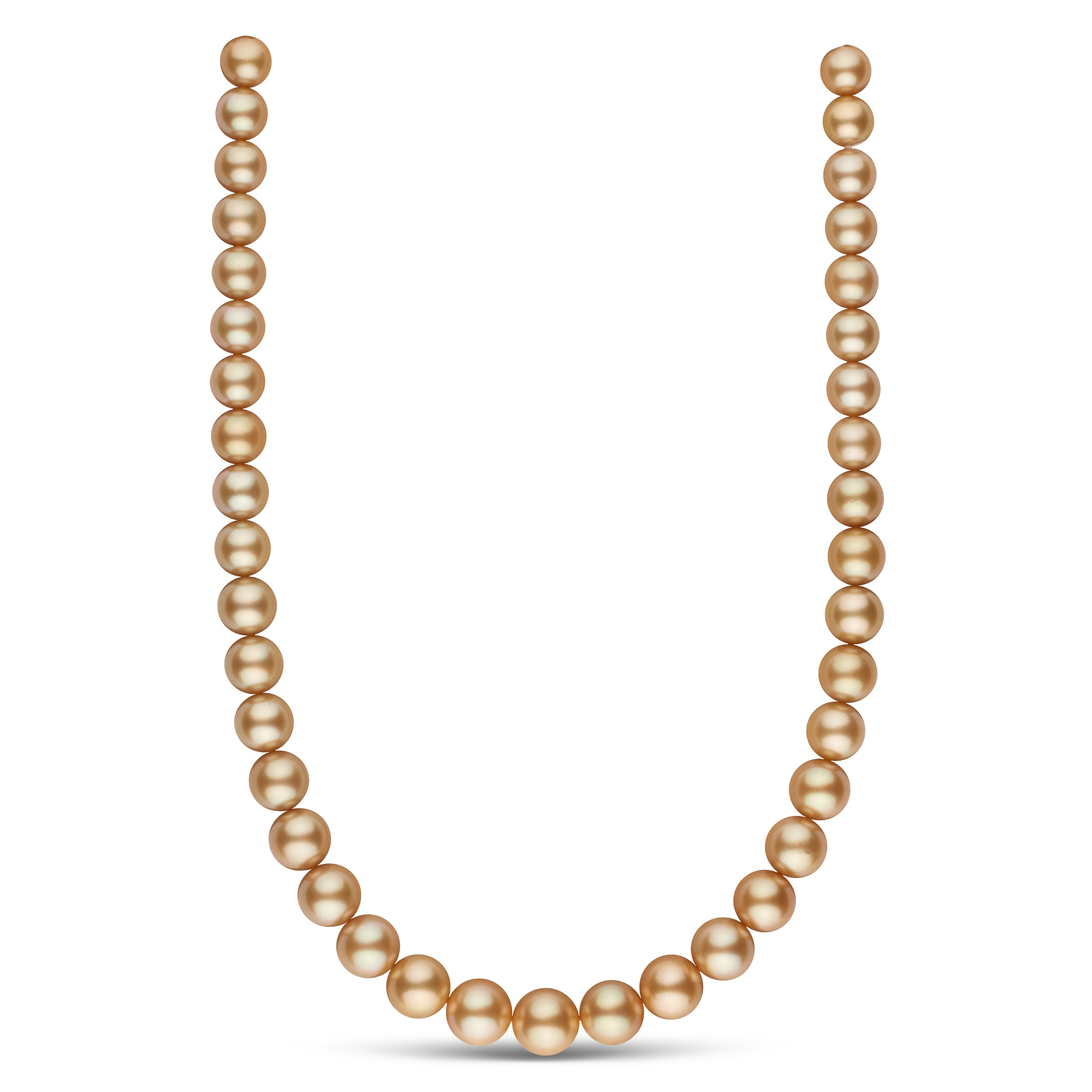 The Liza Minnelli Golden South Sea Pearl Necklace