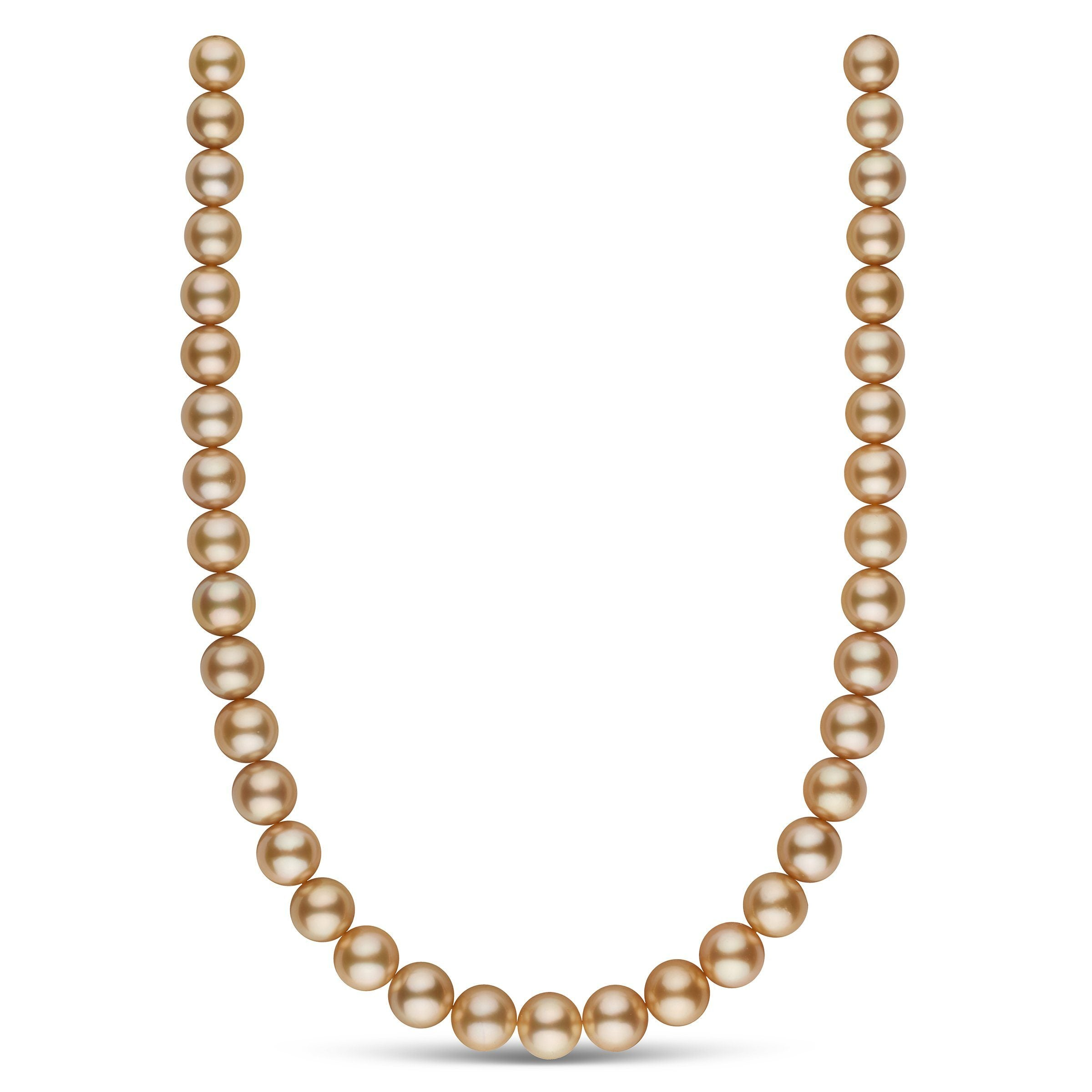 The Meryl Streep Golden South Sea Pearl Necklace
