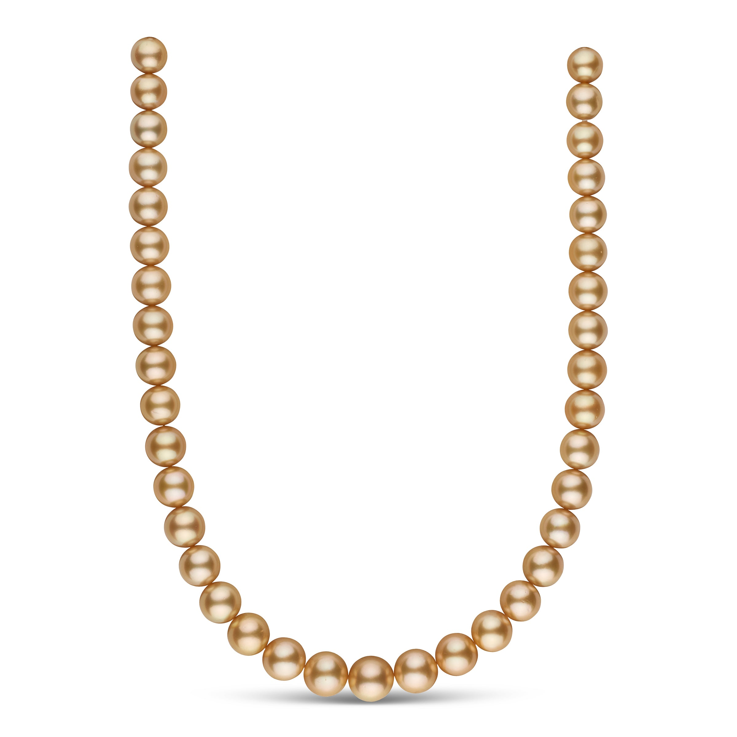 The Mary Tyler Moore Golden South Sea Pearl Necklace