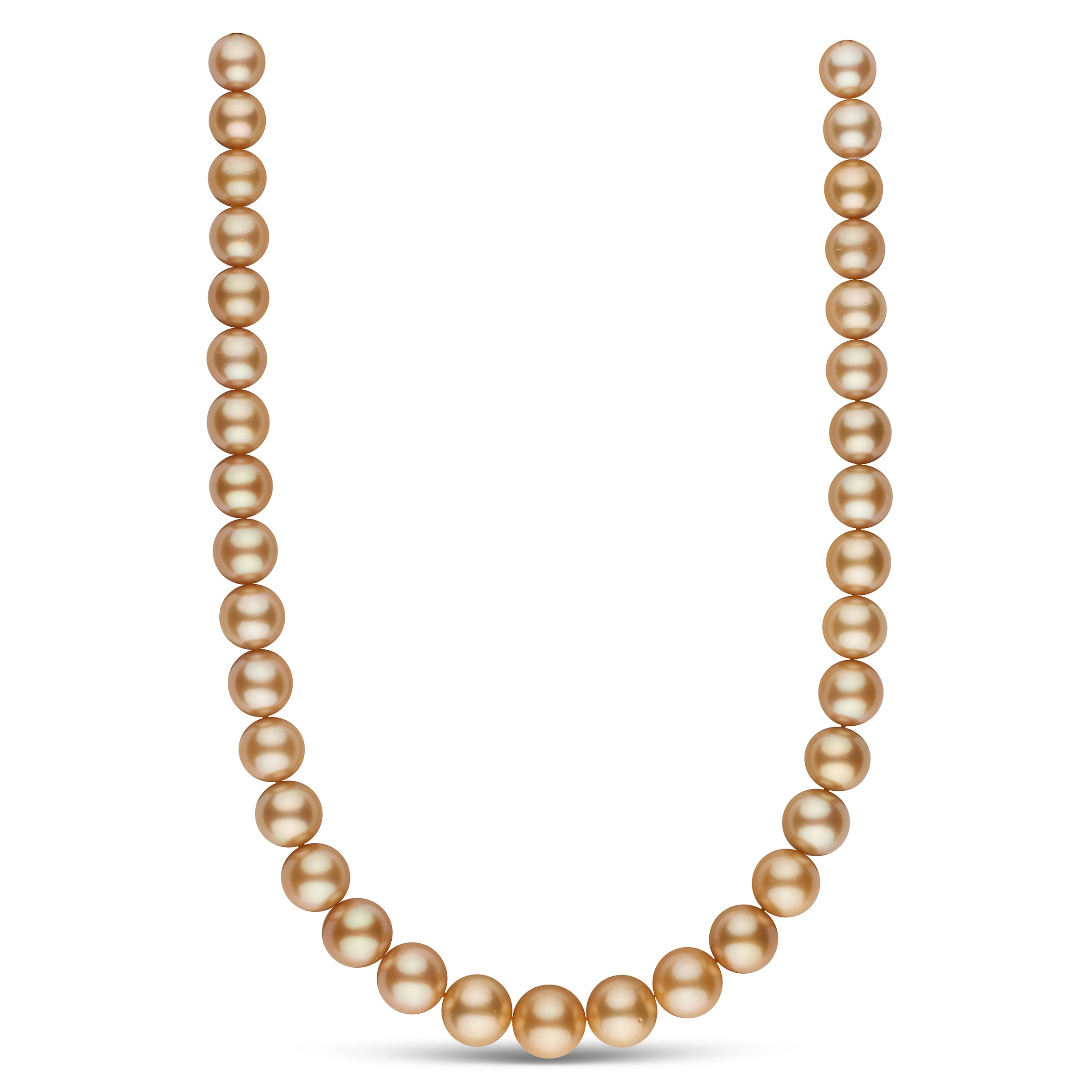 The My Fair Lady Golden South Sea Pearl Necklace