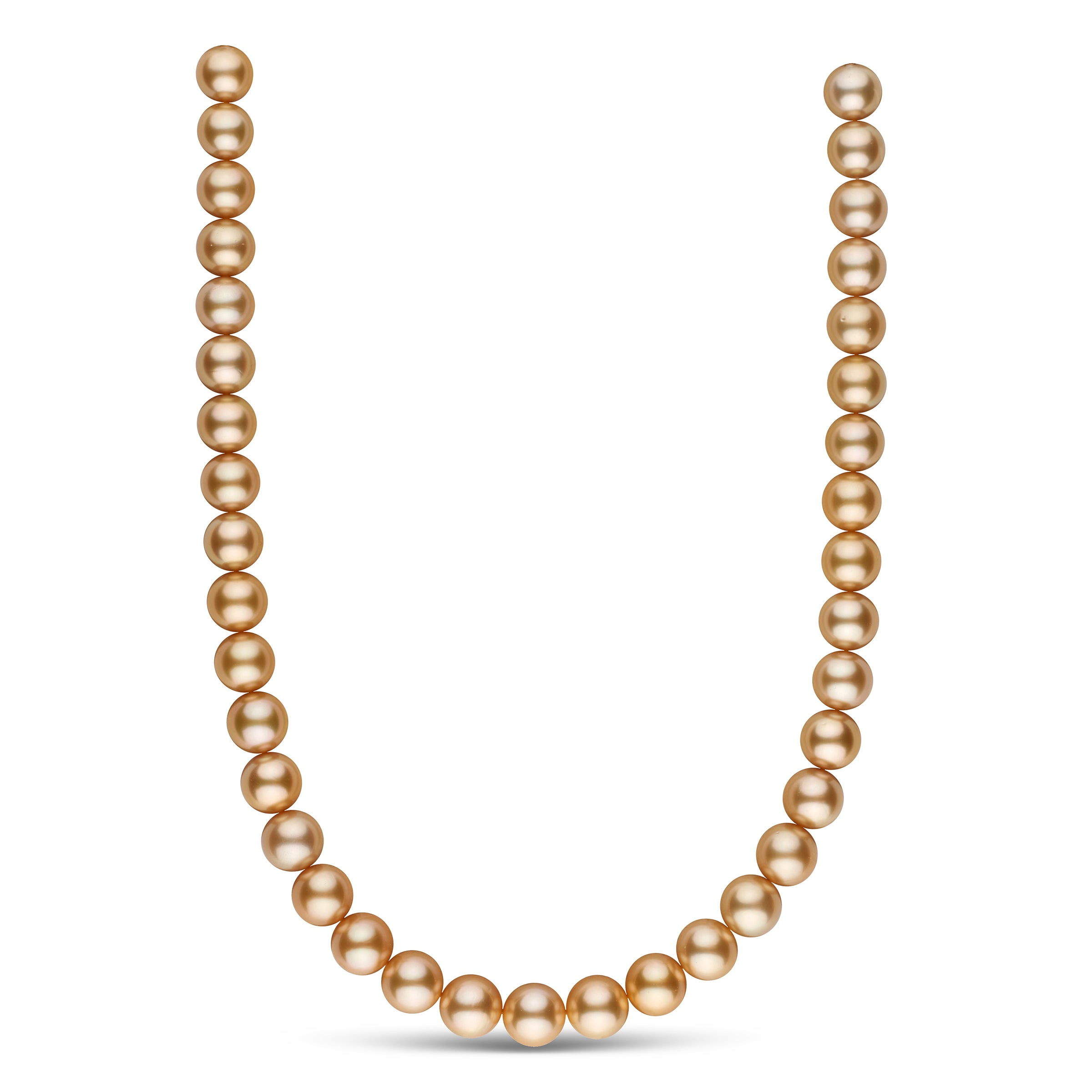 The Some Like It Hot Golden South Sea Pearl Necklace