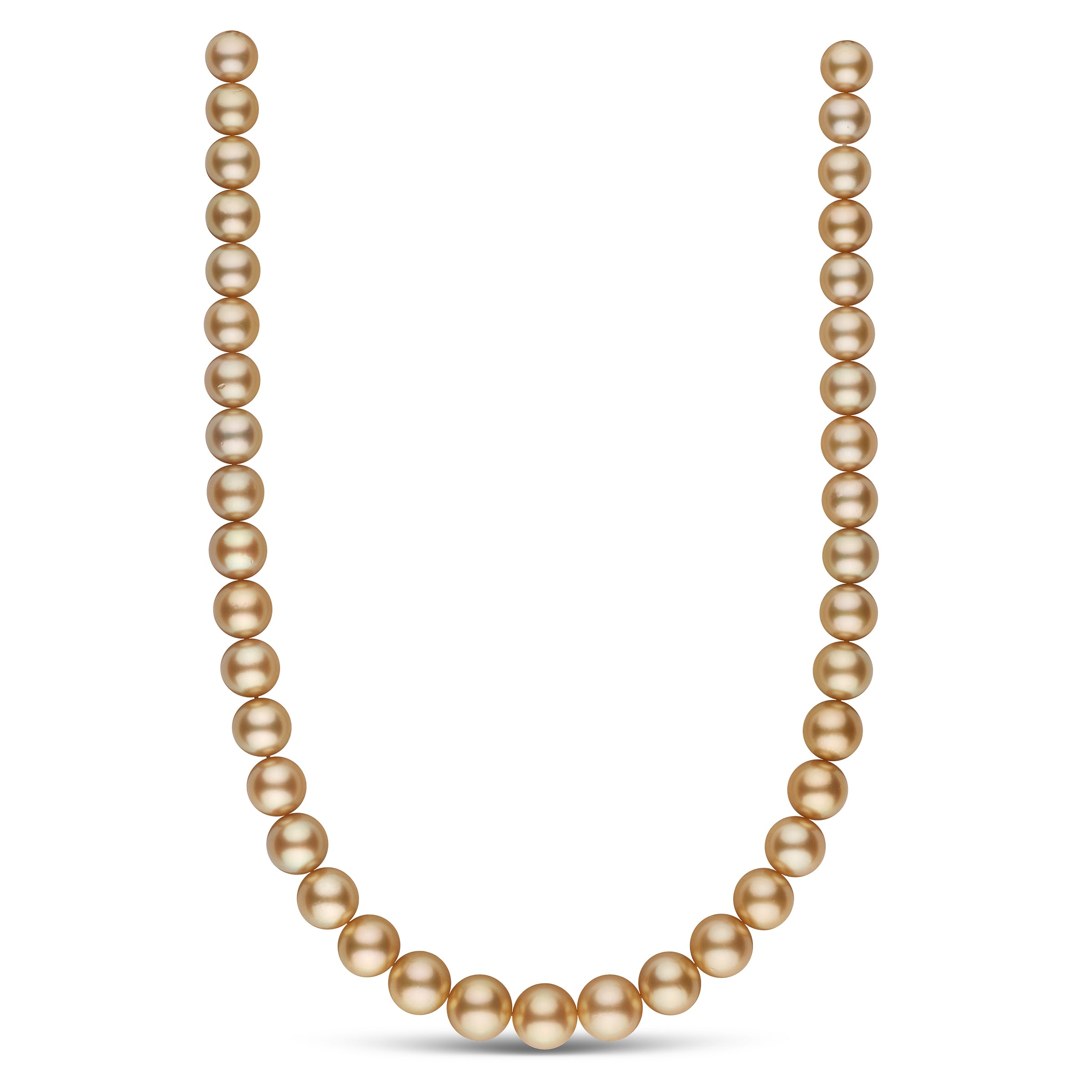 The Artist Golden South Sea Pearl Necklace