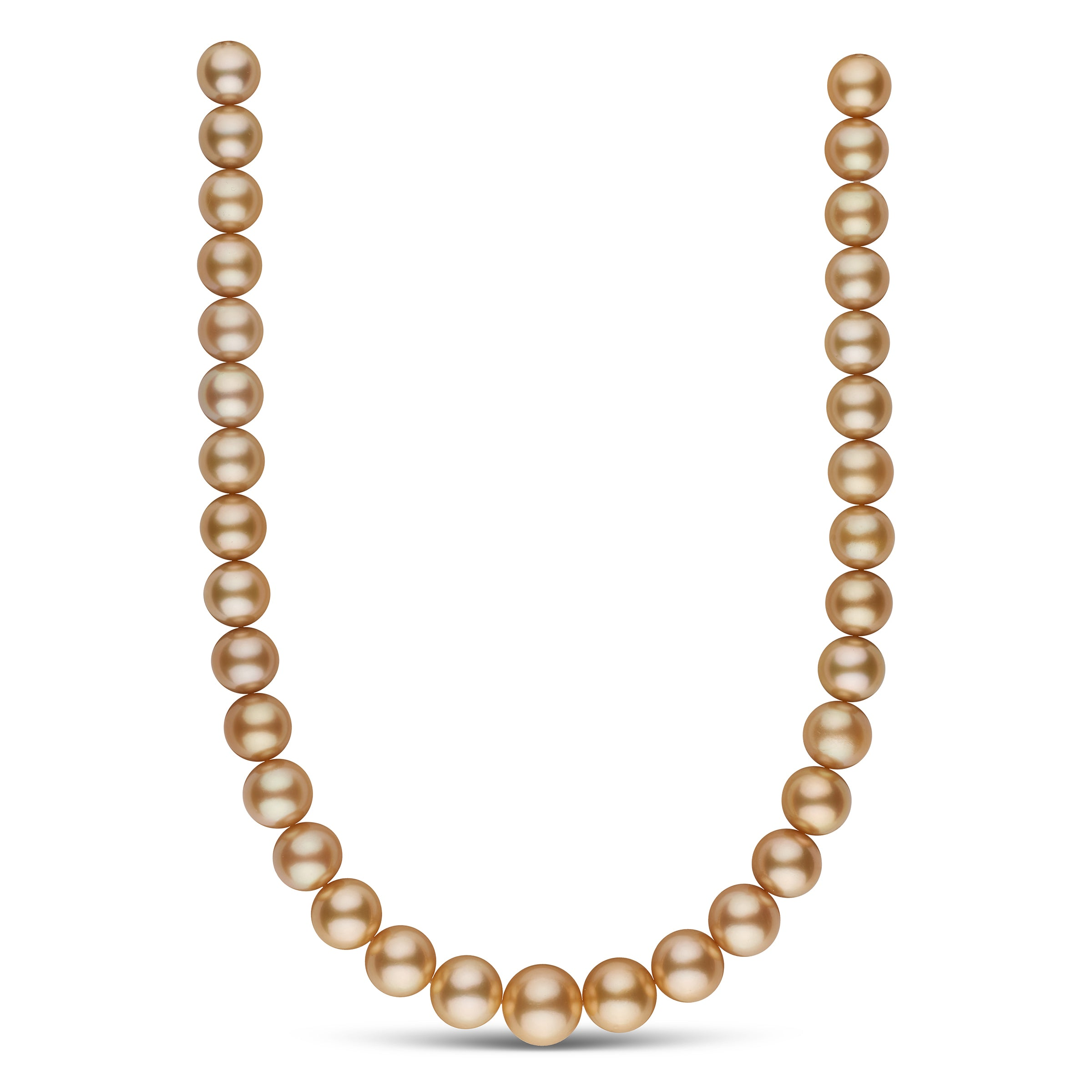 The Audrey Hepburn Golden South Sea Pearl Necklace