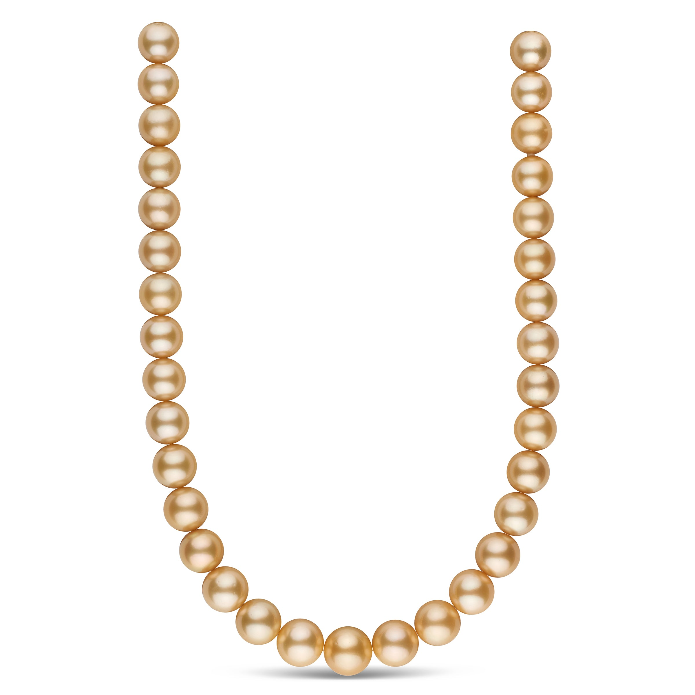 The Elizabeth Taylor Golden South Sea Pearl Necklace