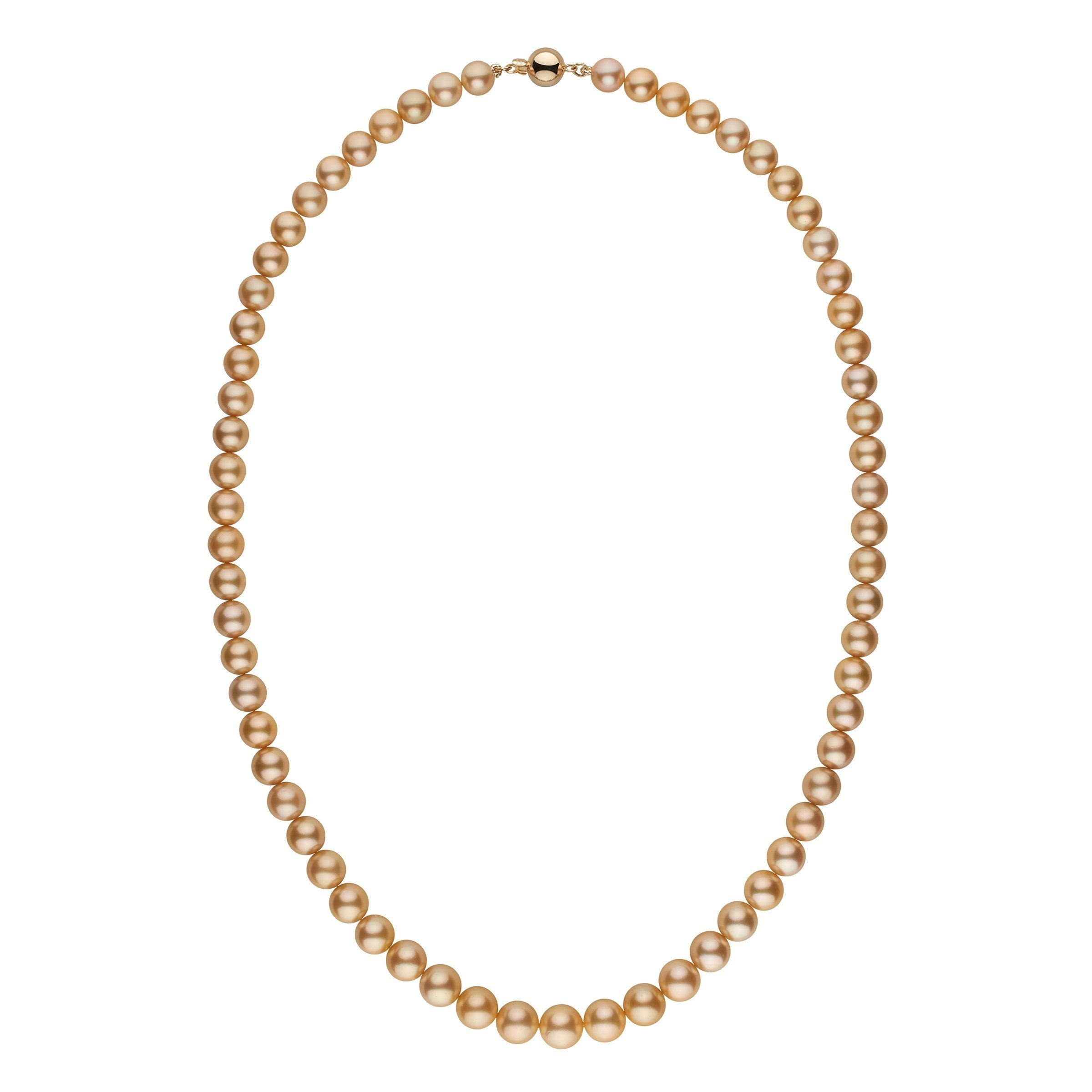 The Greatest Show On Earth Golden South Sea Pearl Necklace