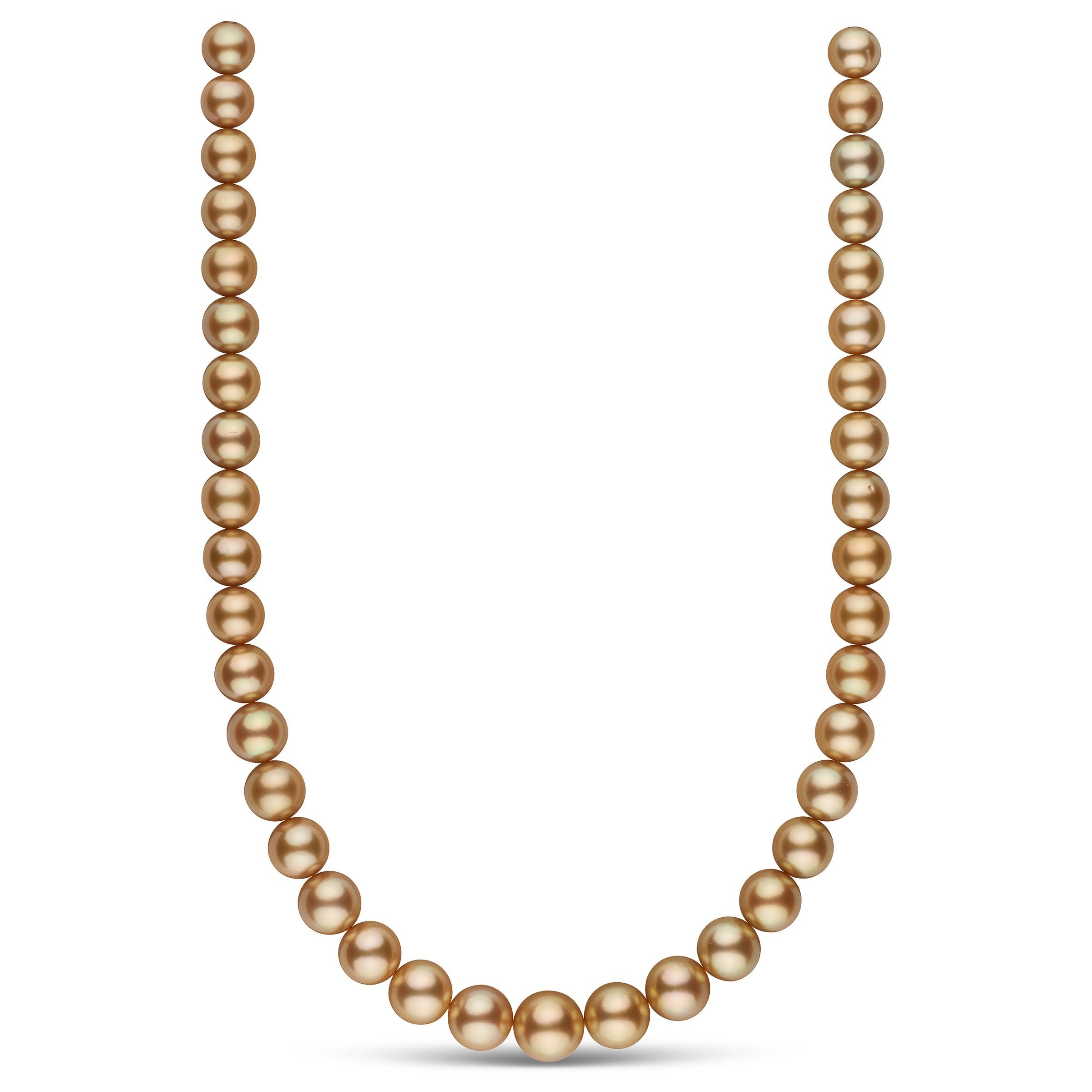 The Sunset Boulevard Golden South Sea Pearl Necklace