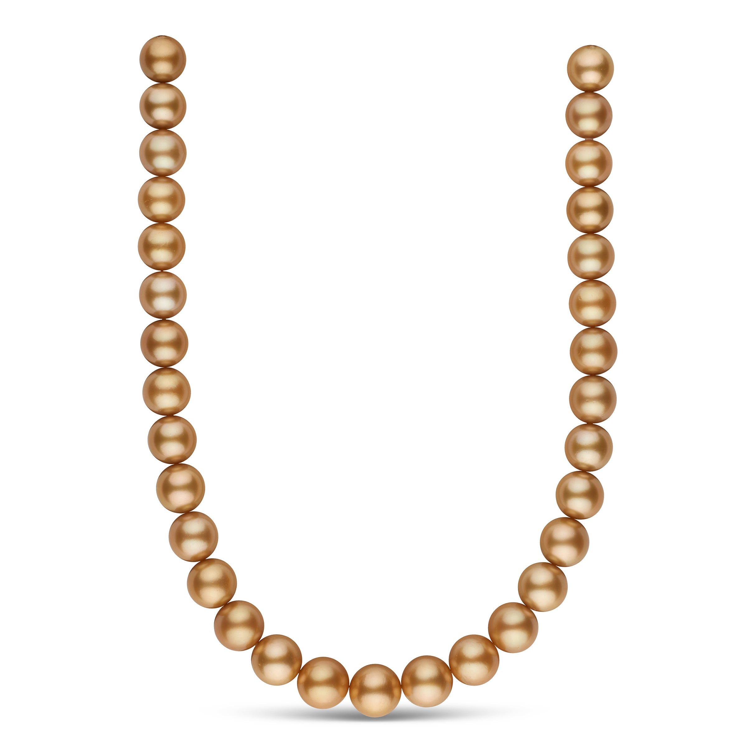 The Golden Globes Golden South Sea Pearl Necklace