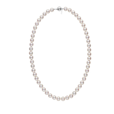 Pearl paradise pearl jewelry over 80 off of retail 75 80 mm 18 inch white hanadama akoya pearl necklace aloadofball Gallery