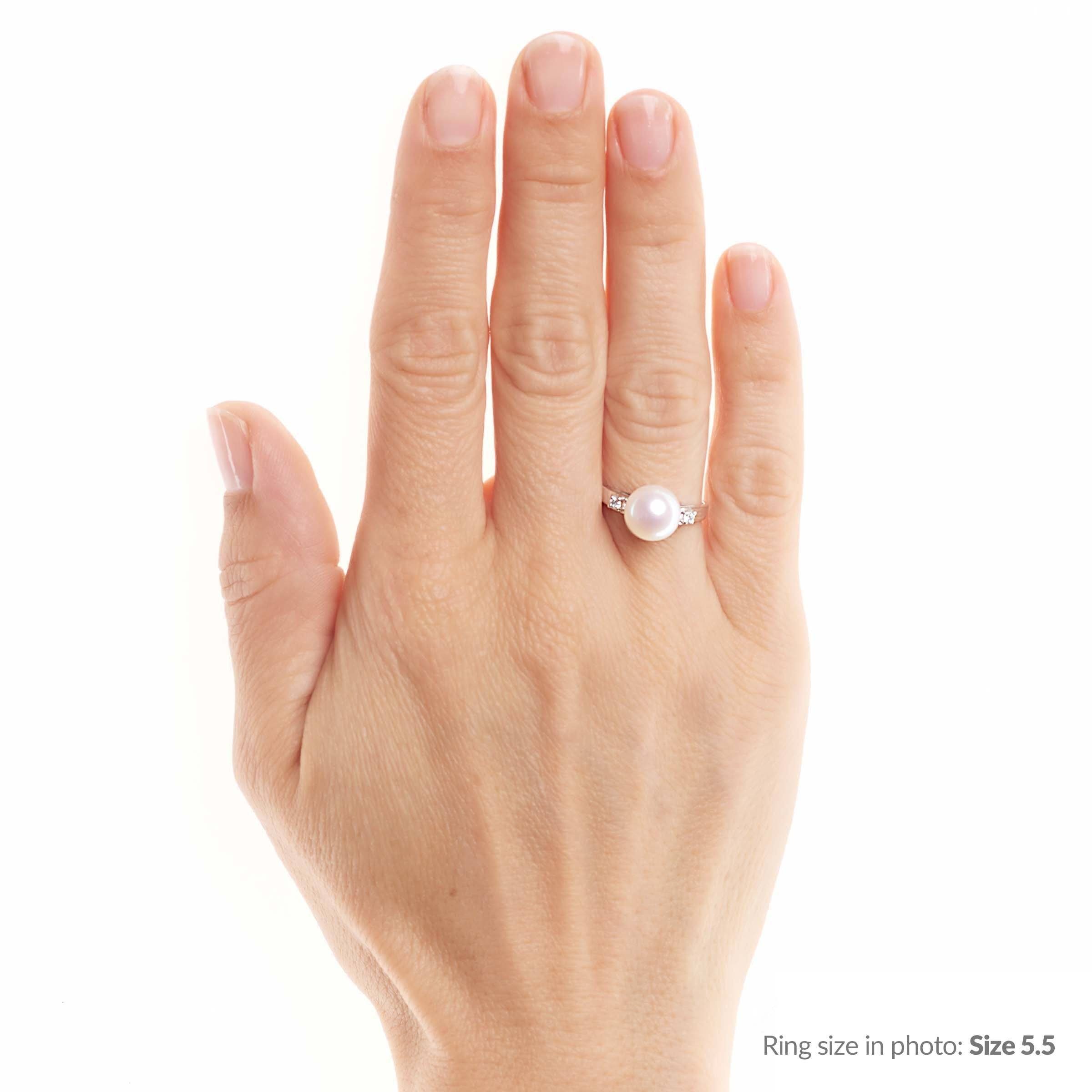 Promise Collection Freshadama Pearl Ring