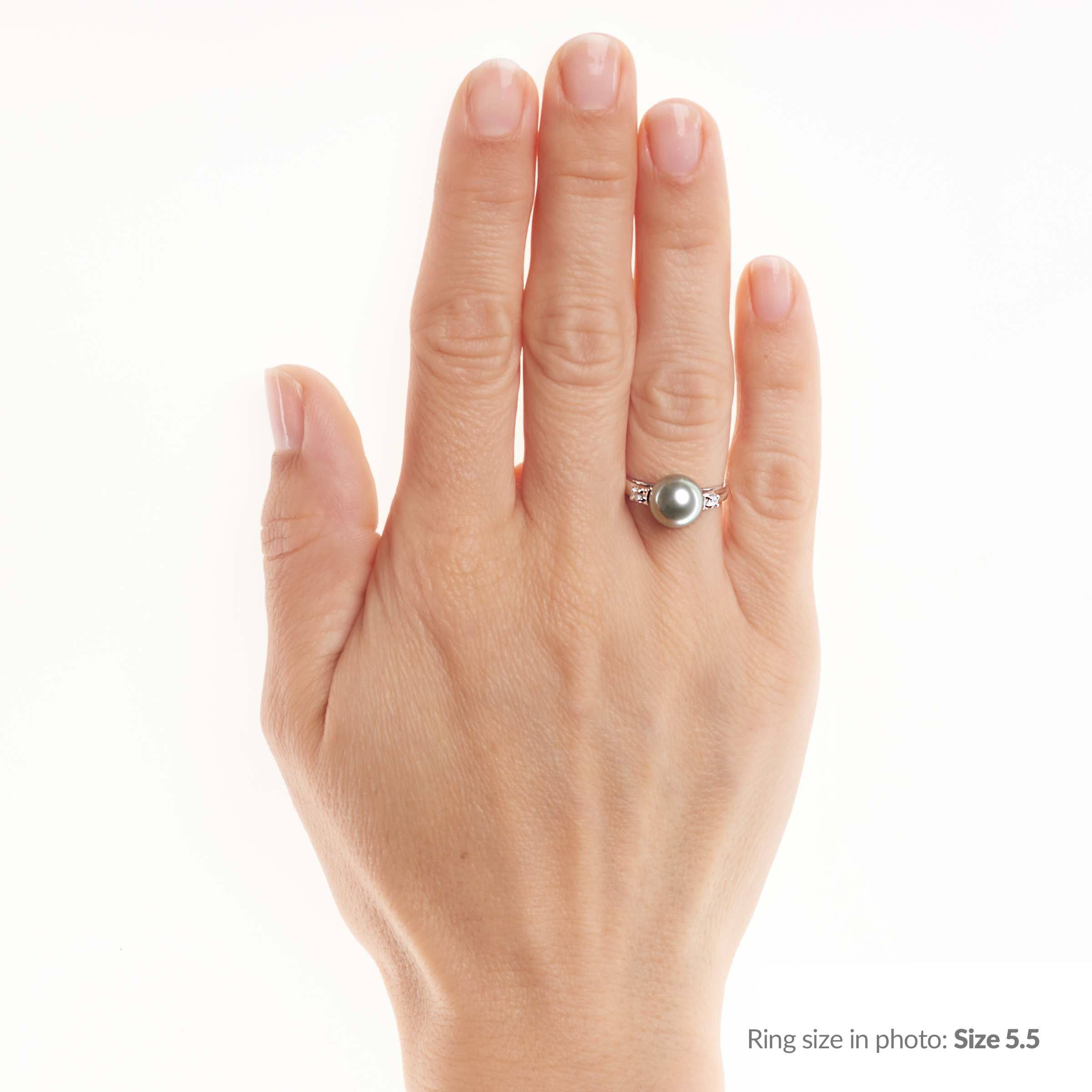 Promise Collection Tahitian Pearl Ring