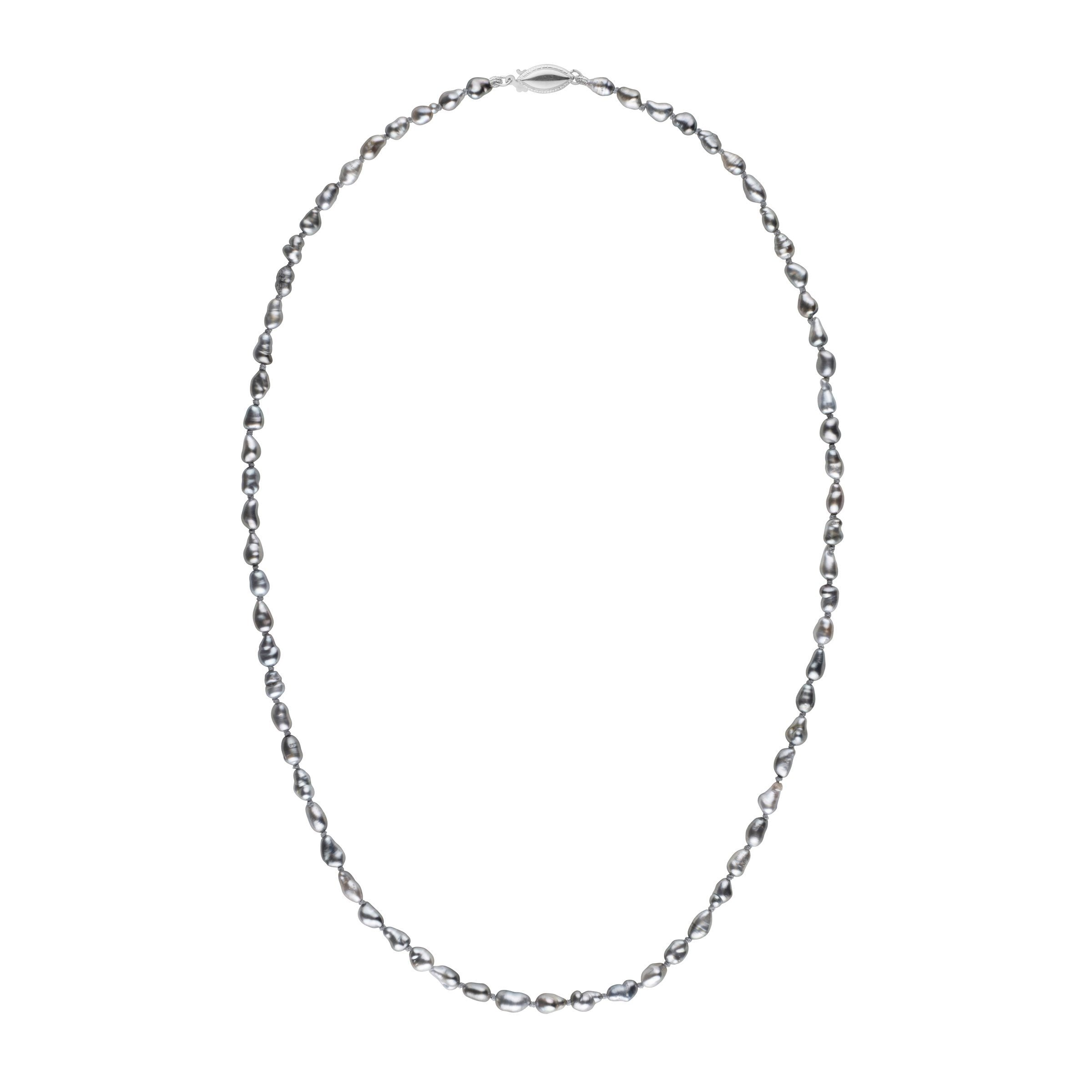 3.0-4.5 mm 18 Inch Keshi Tahitian Pearl Necklace
