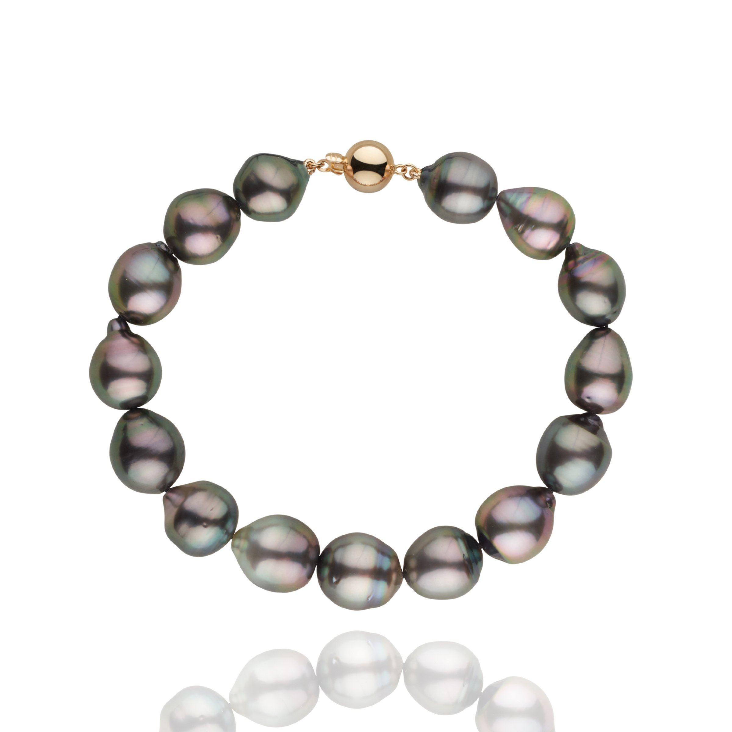 9.2-9.9 mm AAA Tahitian Drop Bracelet