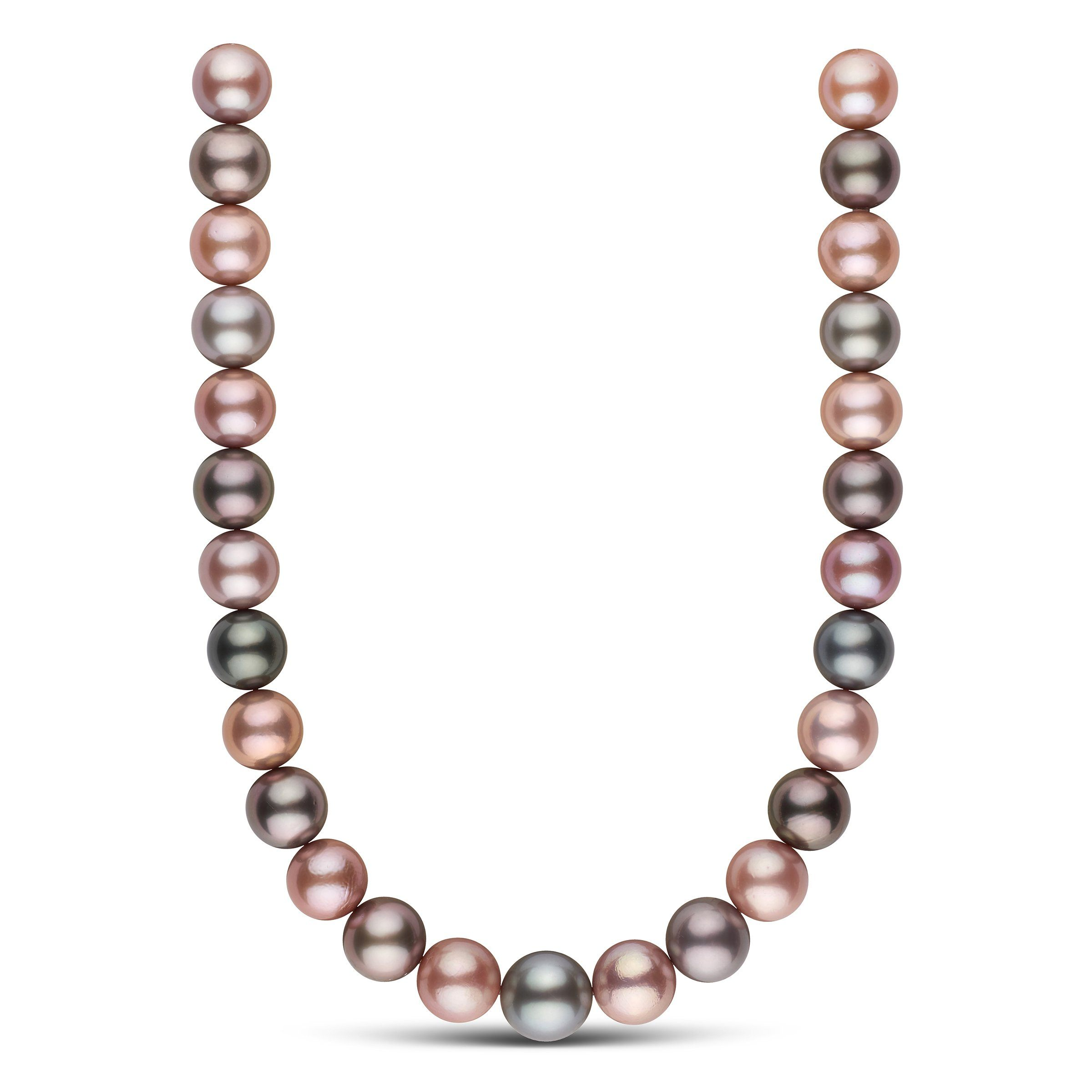 Love Come Down Multicolored Pearl Necklace
