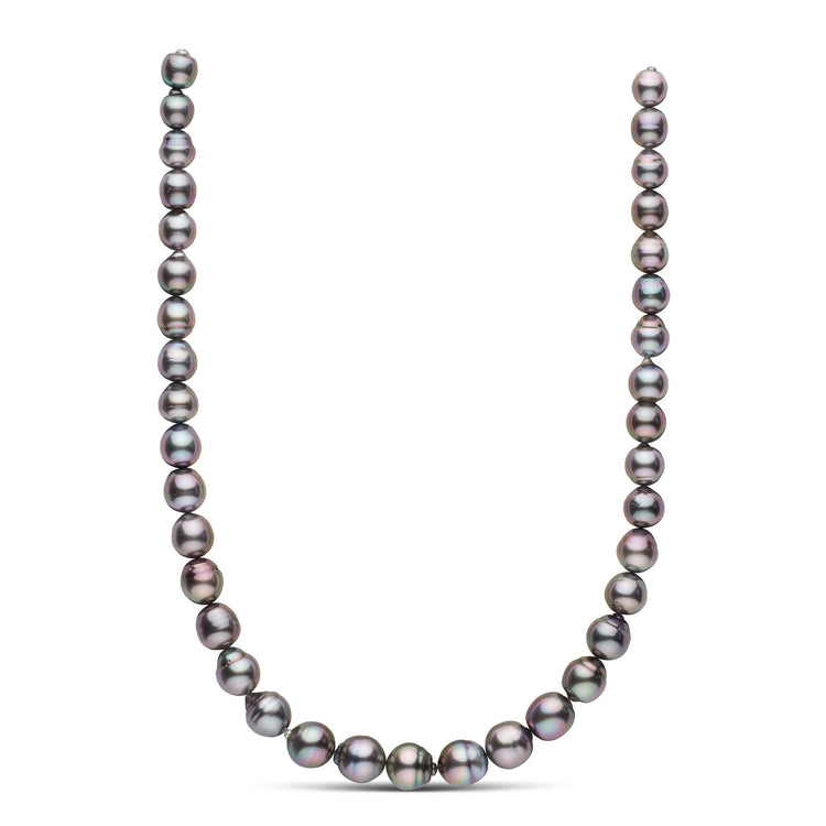 18-inch 9.2-11.9 mm AA+ Baroque Tahitian Pearl Necklace