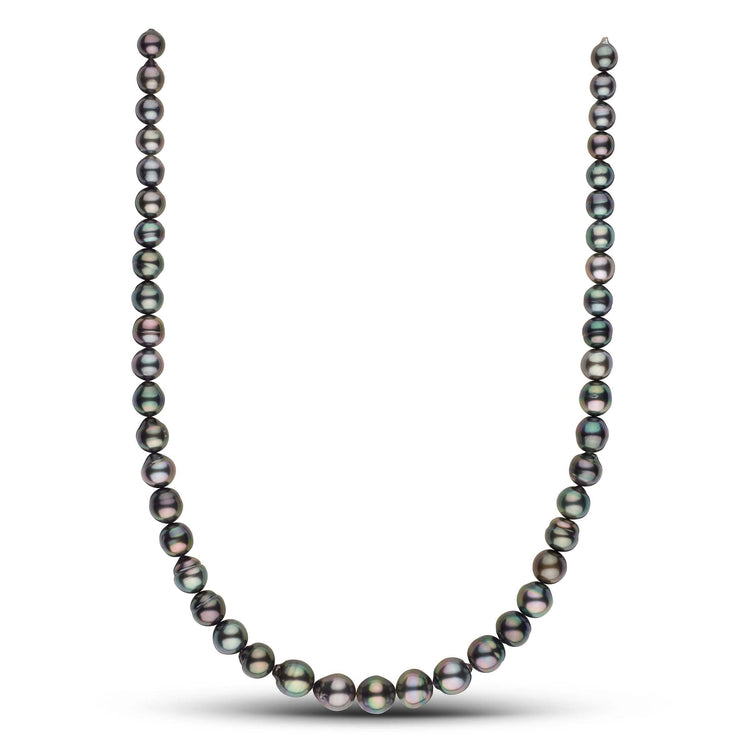 18-inch 7.5-10.6 mm AA+ Baroque Tahitian Pearl Necklace