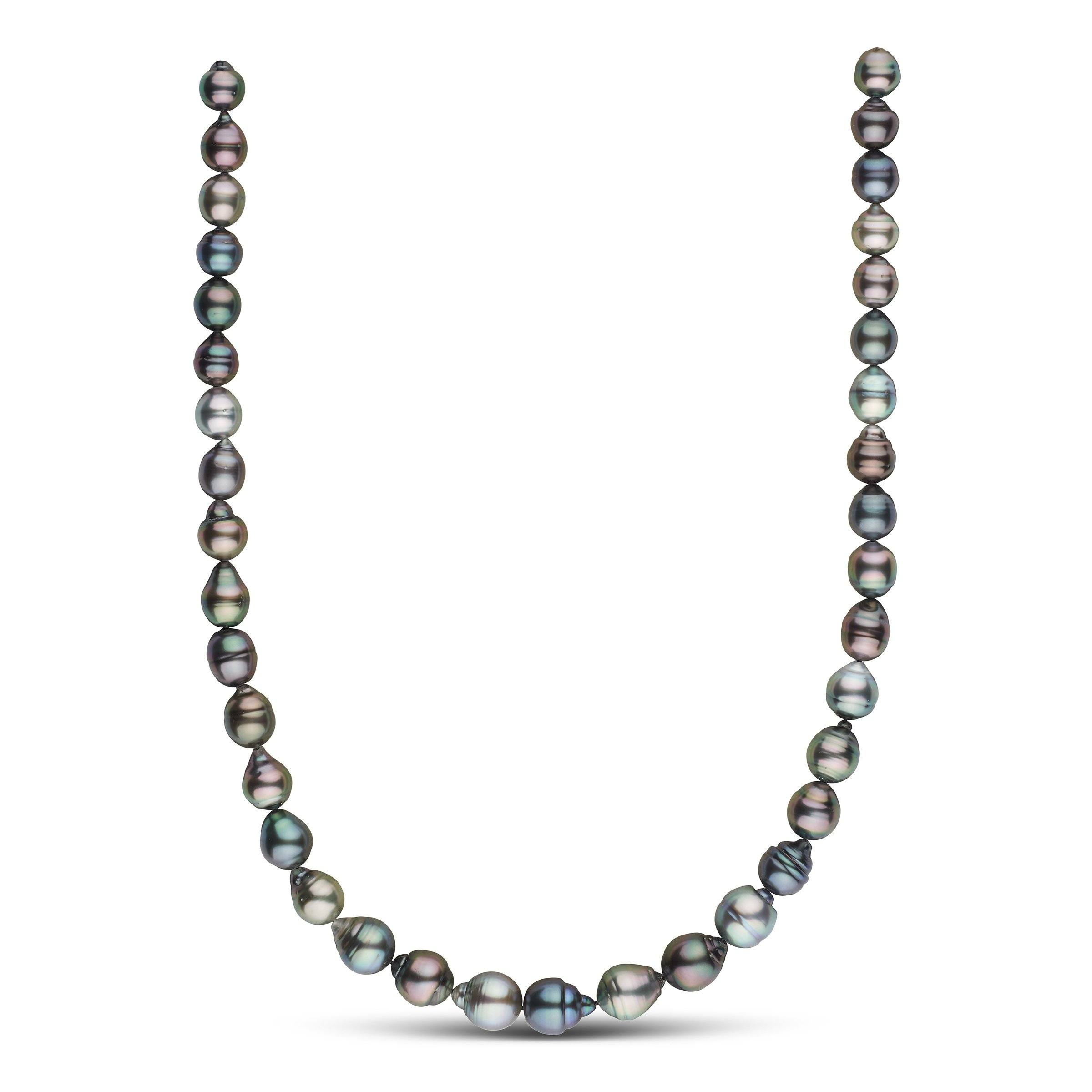 8.6-10.8 mm AAA Tahitian Baroque Pearl Necklace