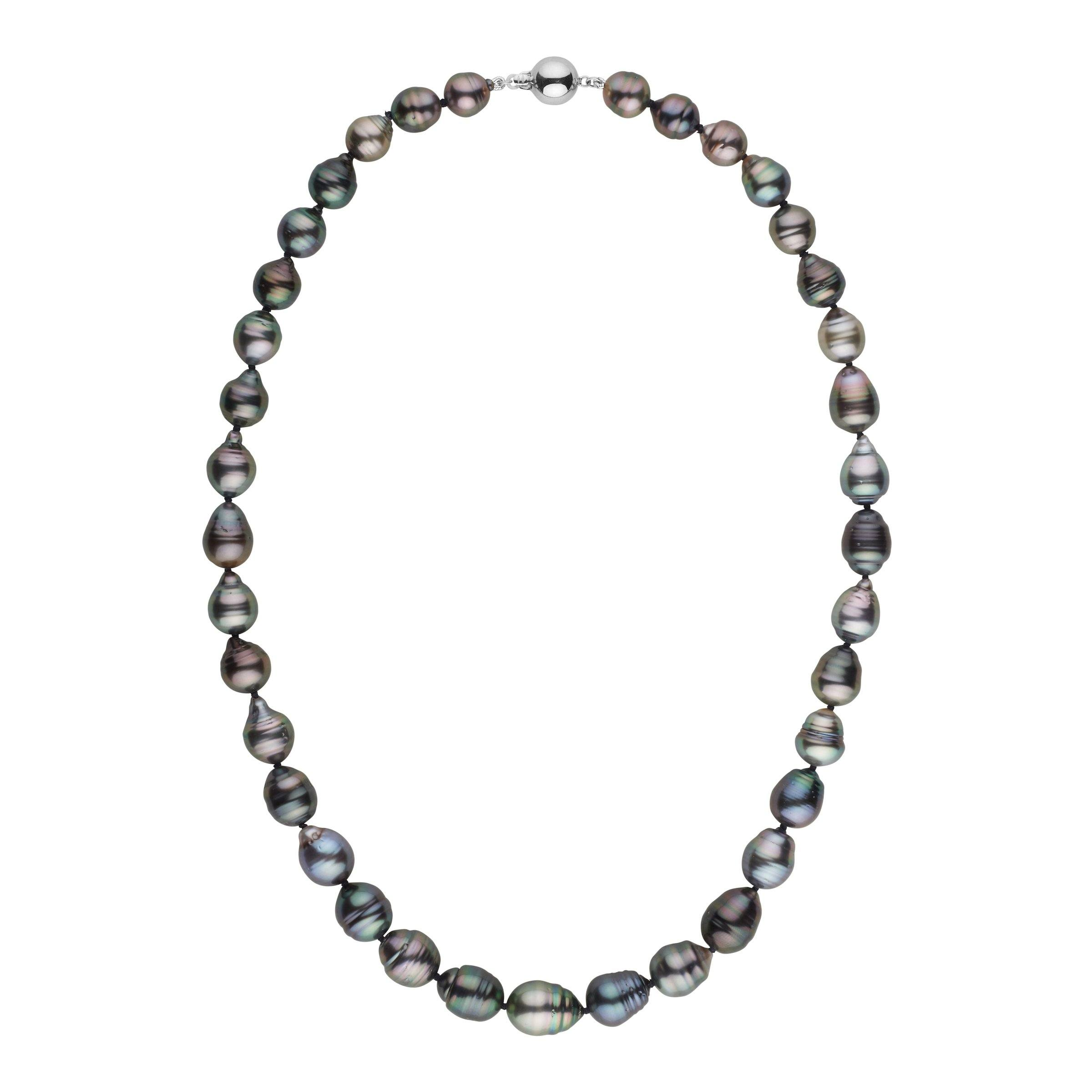8.3-10.4 mm AA+/AAA Tahitian Baroque Pearl Necklace