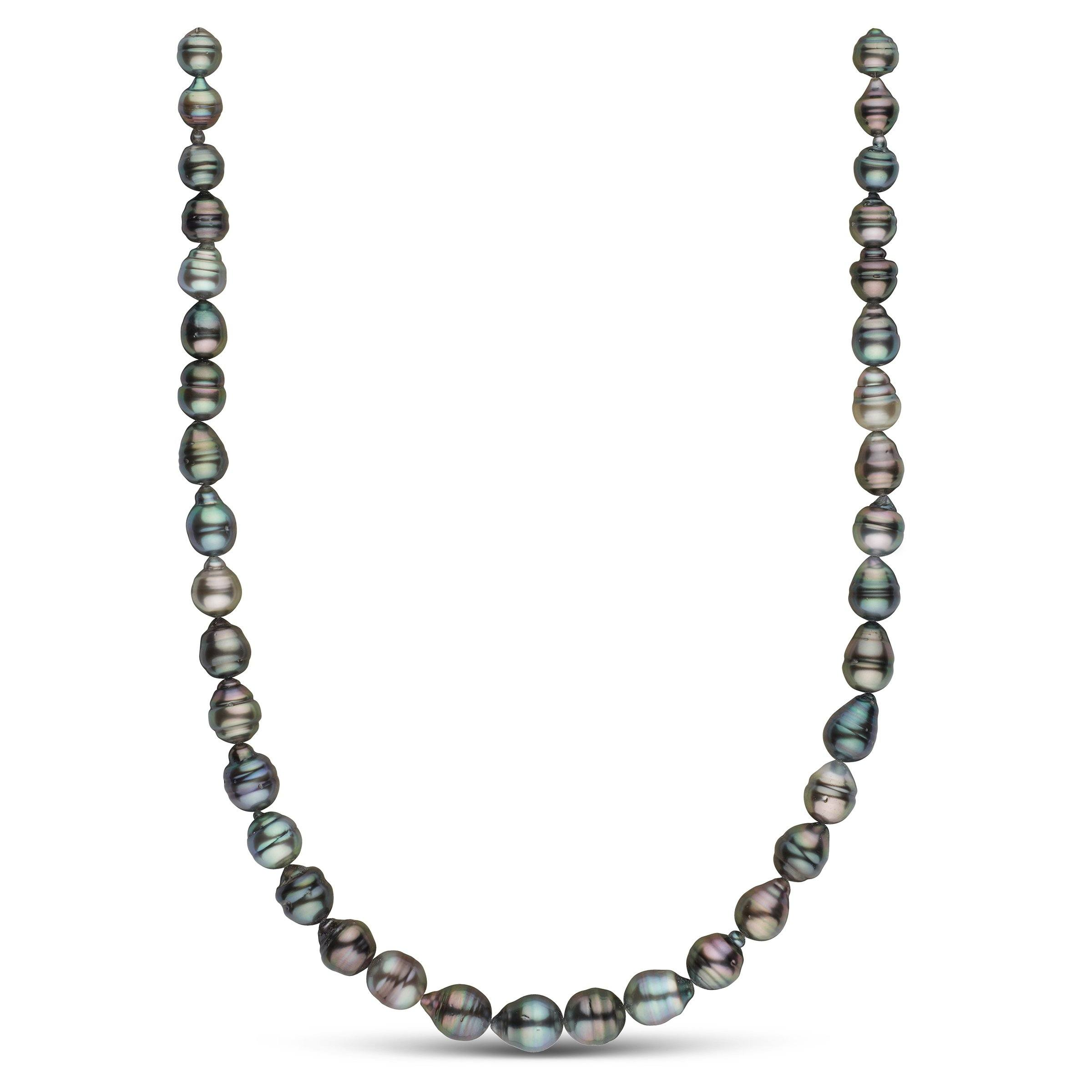 8.2-10.4 mm AA+/AAA Tahitian Baroque Pearl Necklace