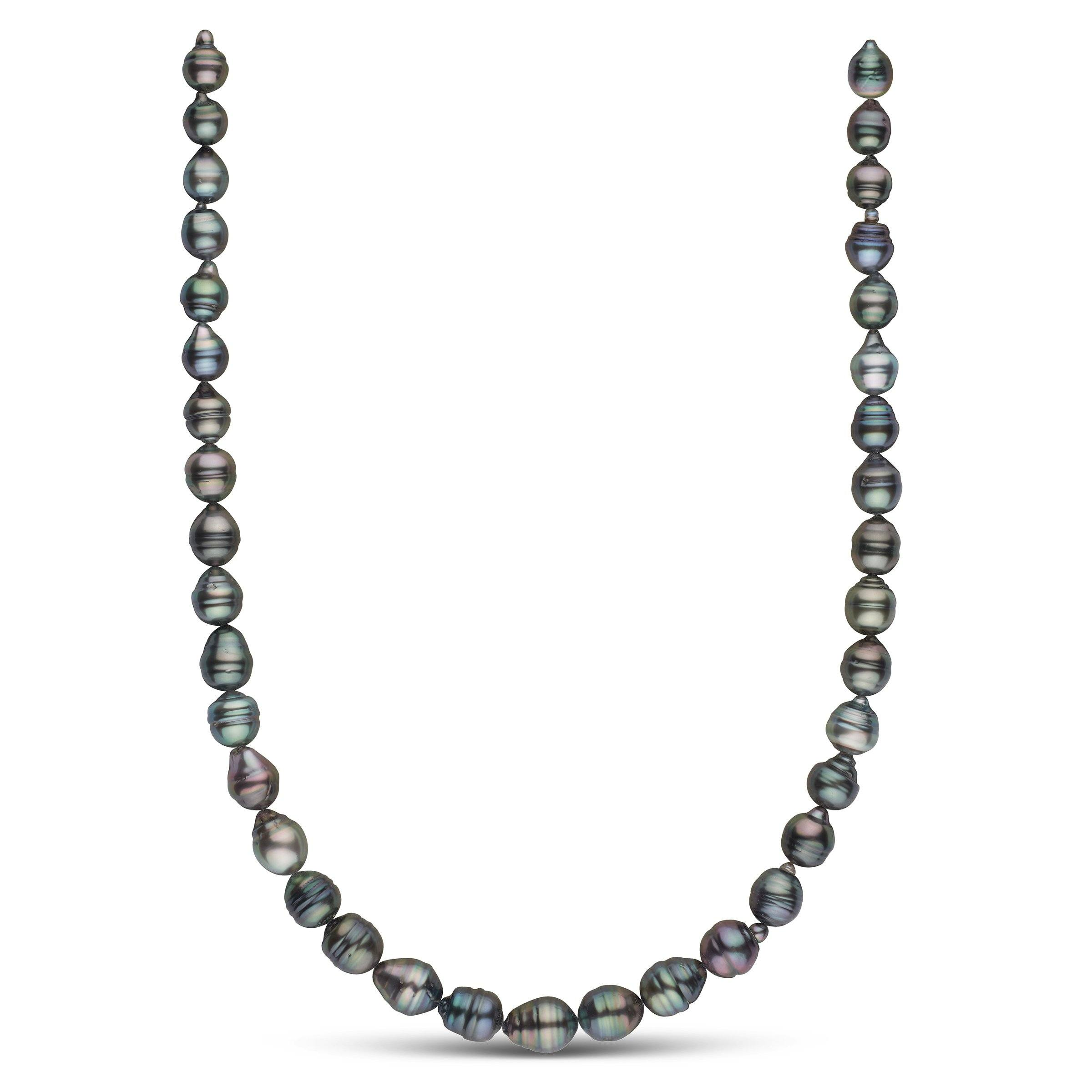 8.1-10.3 mm AA+ Tahitian Baroque Pearl Necklace