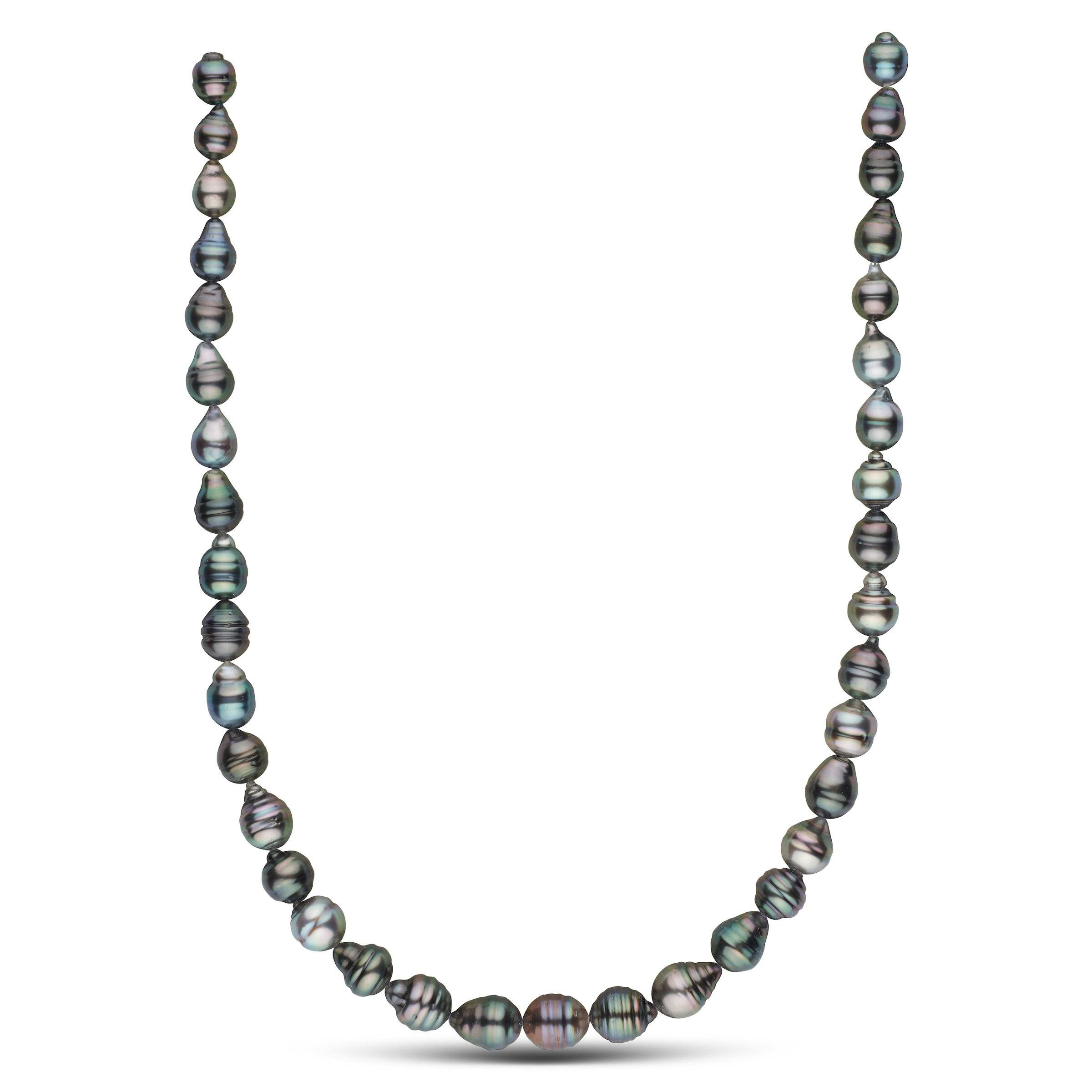 8.1-10.5 mm AA+/AAA Tahitian Baroque Pearl Necklace