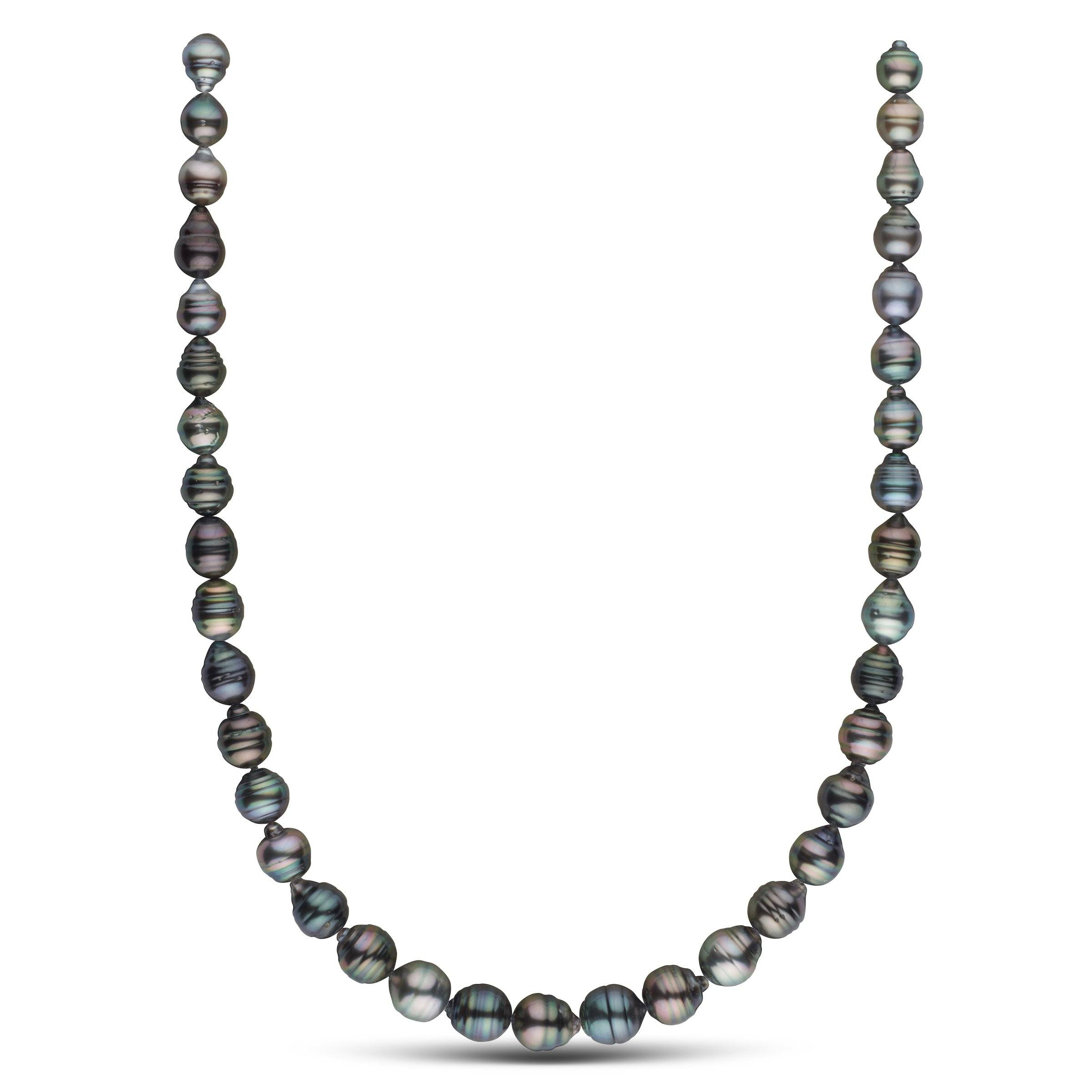 8.3-10.5 mm AA+/AAA Tahitian Baroque Pearl Necklace